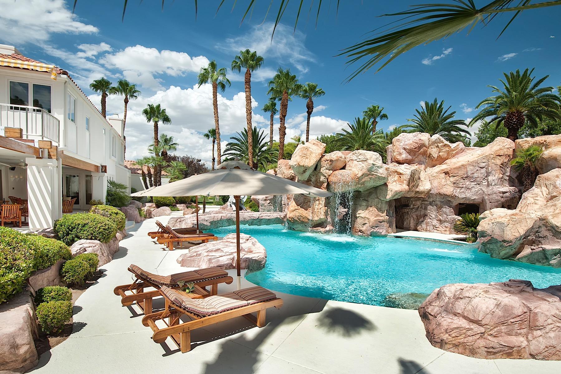 独户住宅 为 销售 在 The Primm Ranch 7000 Tomiyasu Lane Las Vegas, 内华达州 89120 美国