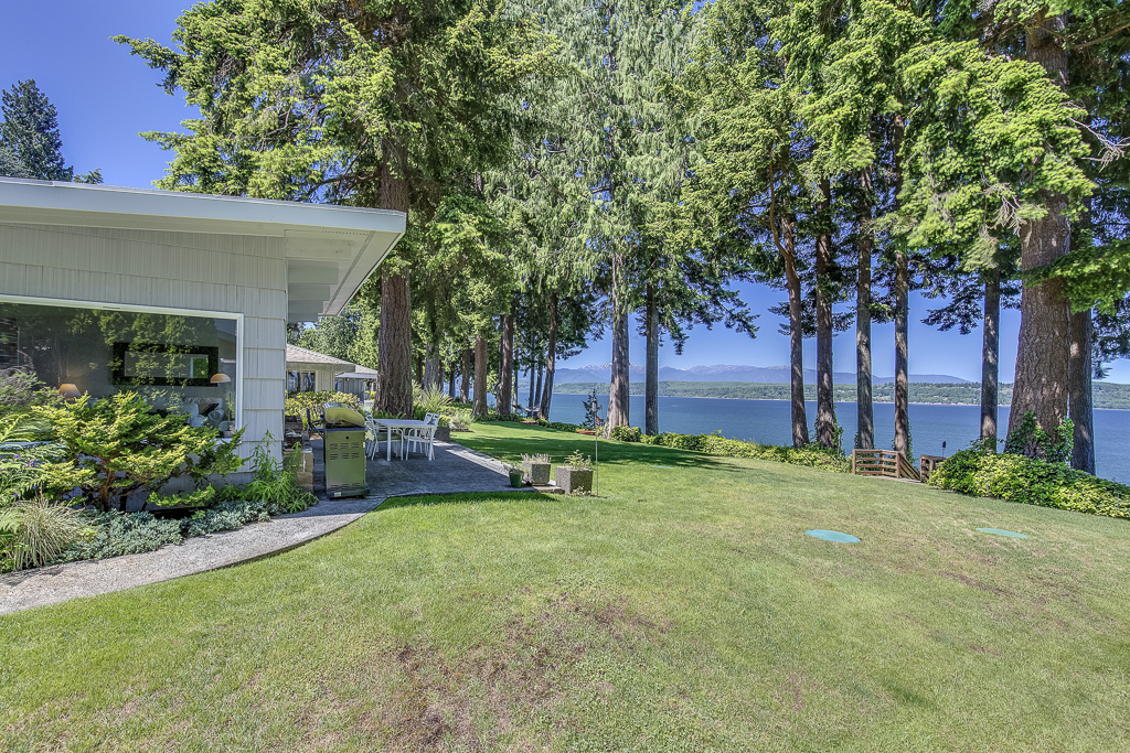Single Family Home for Sale at Mid-Century Modern 29071 Beach Drive NE Poulsbo, Washington 98370 United States