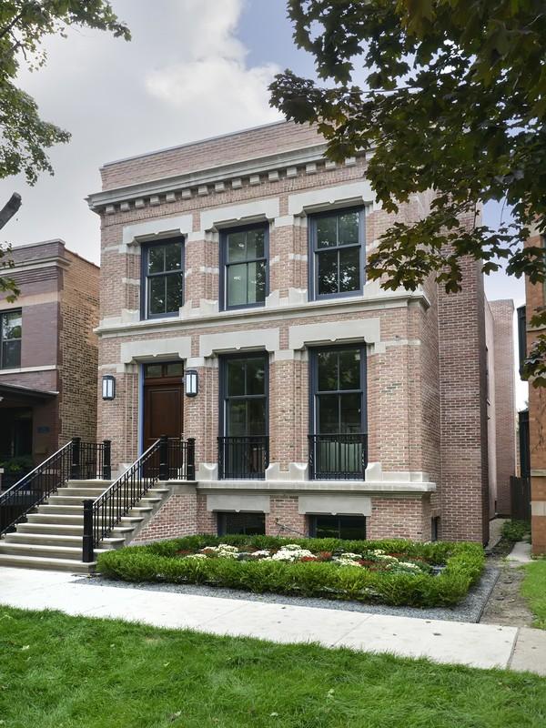独户住宅 为 销售 在 Exquisite New Brick & Limestone Home 3726 North Claremont Avenue North Center, Chicago, 伊利诺斯州 60618 美国