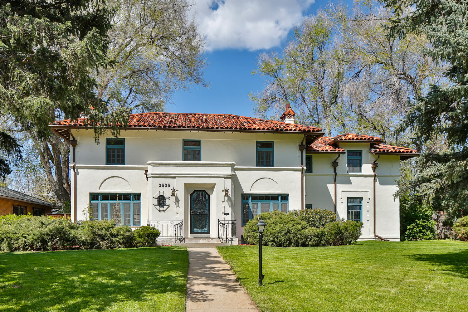 Single Family Home for Sale at Lovely Spanish home 2525 Monaco Parkway Denver, Colorado, 80207 United States