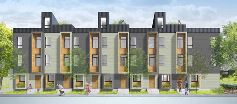 Condominium for Sale at Sustainable E-Townhome 3 Dorr Street Unit 0 Boston, Massachusetts 02119 United States
