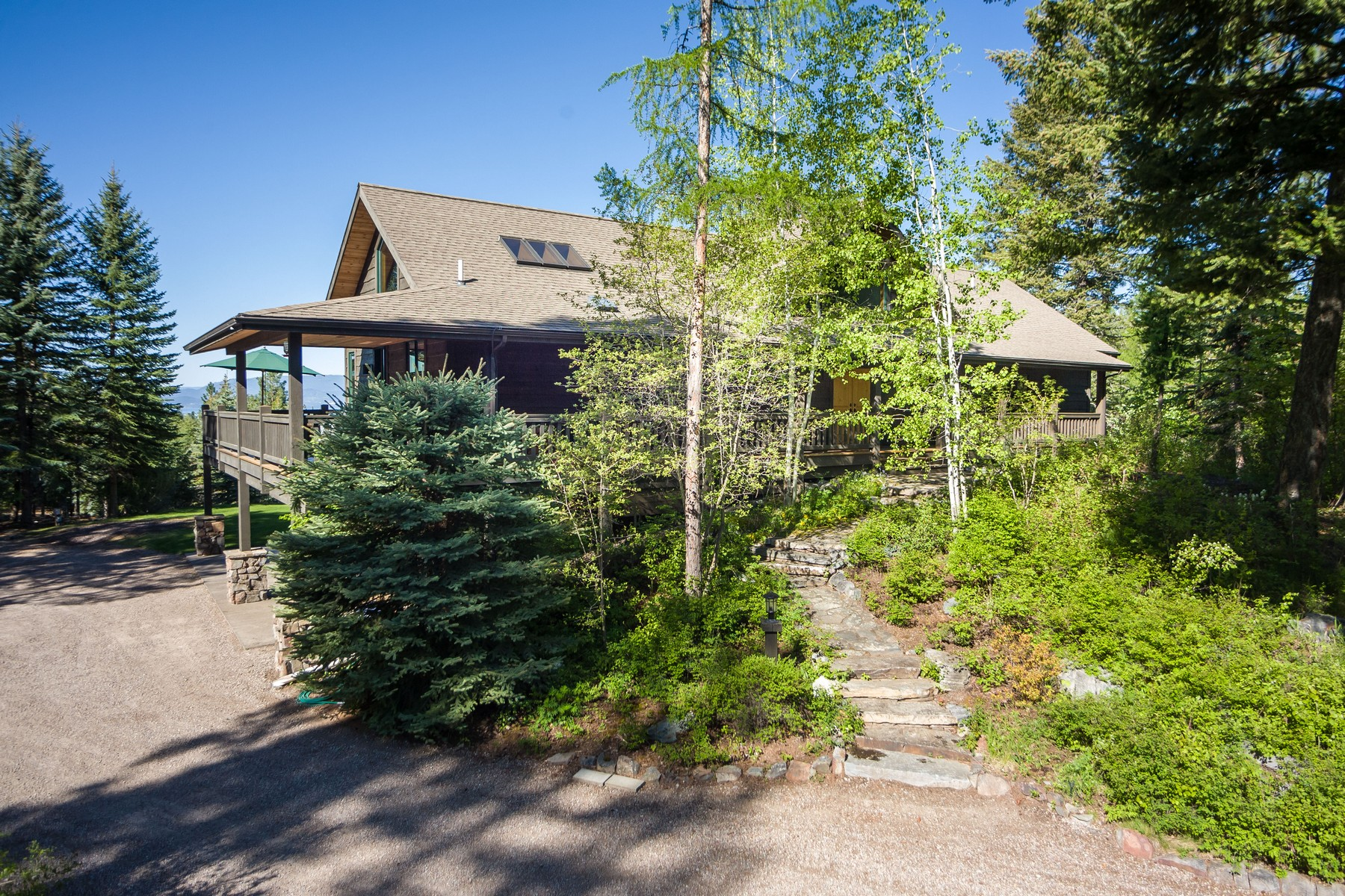 獨棟家庭住宅 為 出售 在 32009 Birch Tree Drive Bigfork, 蒙大拿州, 59911 美國