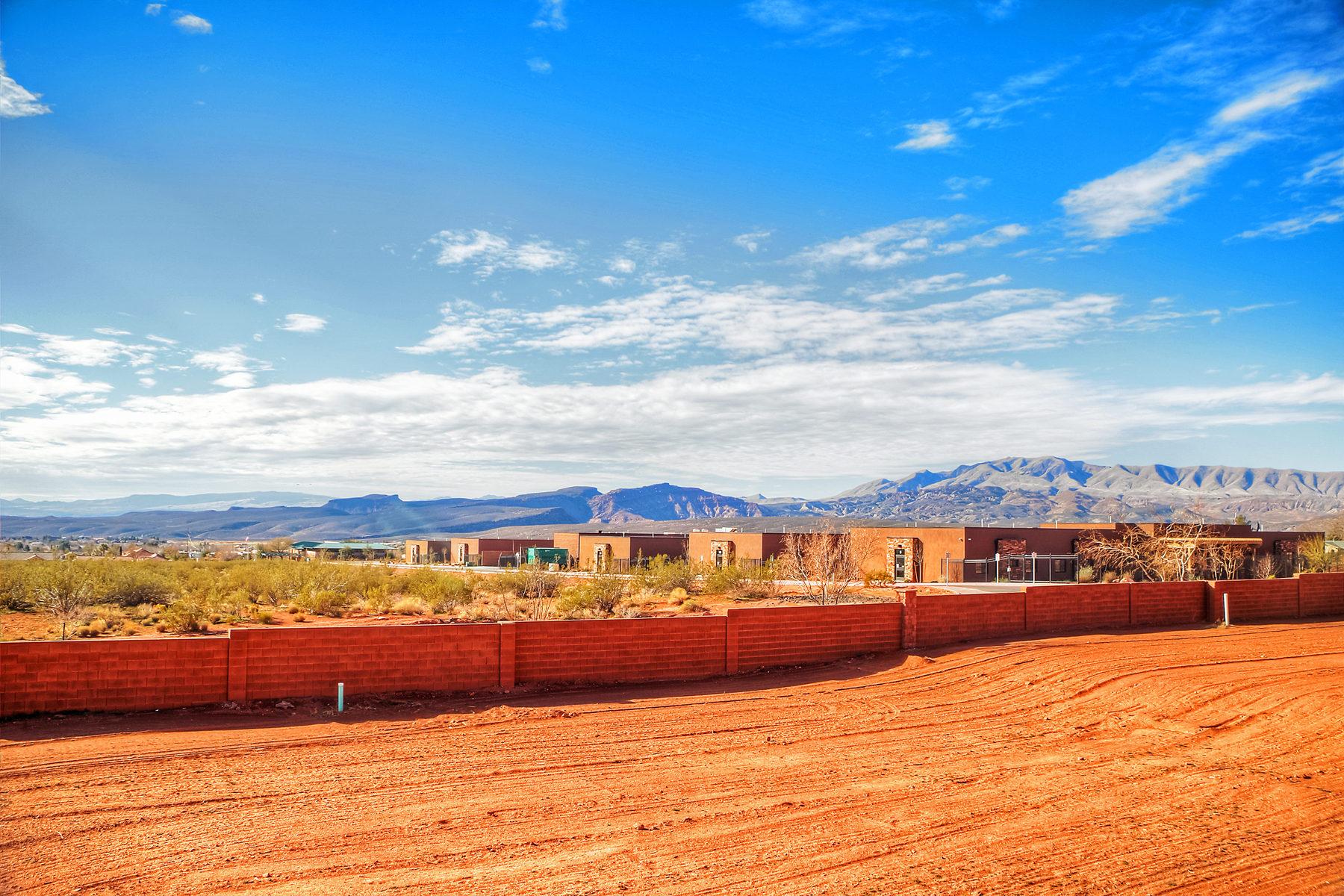 Terreno por un Venta en Red Mountain Estate View lot Lot 1 Red Mountain Estates Ivins, Utah 84738 Estados Unidos