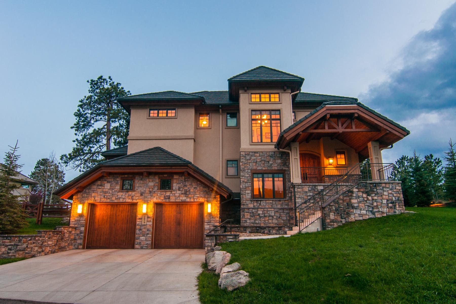 Nhà ở một gia đình vì Bán tại New Build Custom Executive 1979 Interlocken Drive Evergreen, Colorado 80439 Hoa Kỳ