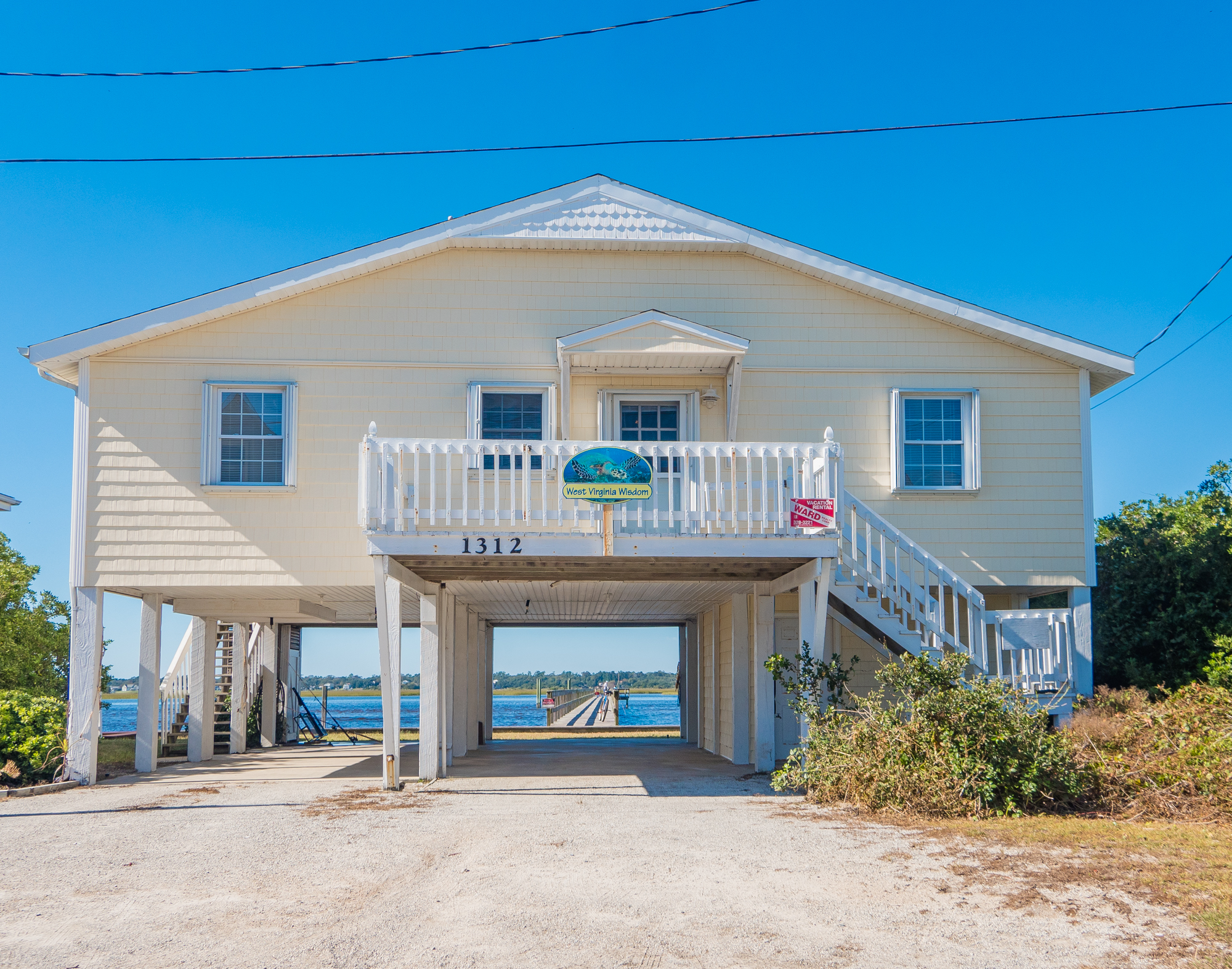 Single Family Home for Sale at Classic Soundfront Cottage 1312 Carolina Blvd Topsail Beach, North Carolina, 28445 United States