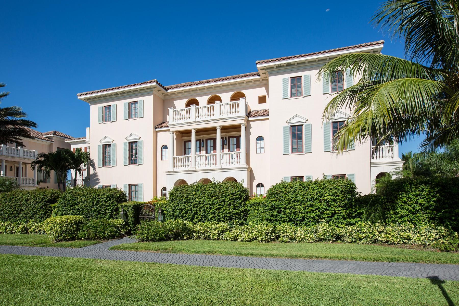 Casa Unifamiliar por un Venta en Village by the Sea Mediterranean Villa 1513 Ocean Drive Vero Beach, Florida 32963 Estados Unidos