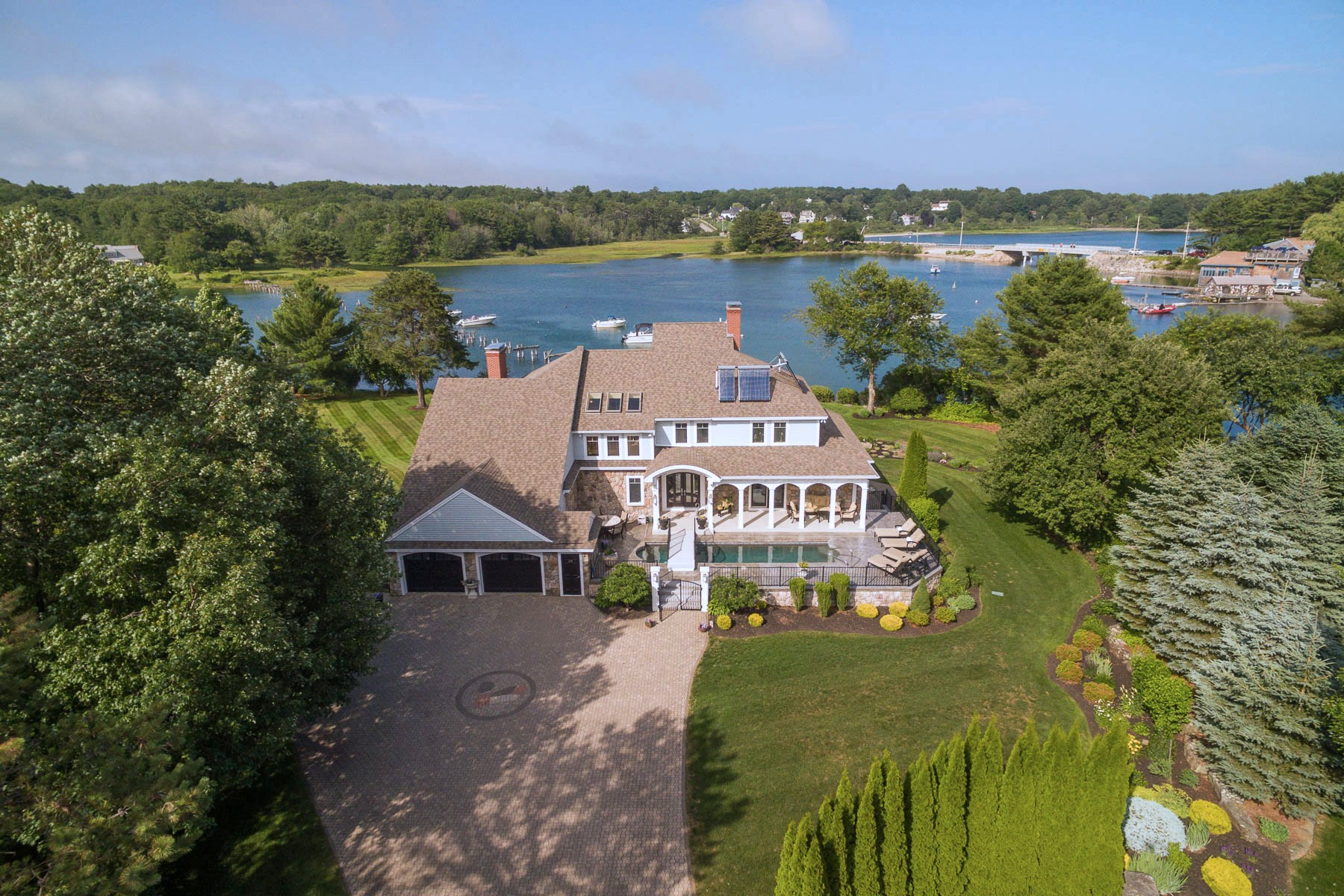 sales property at Cape Neddick Riverfront Contemporary