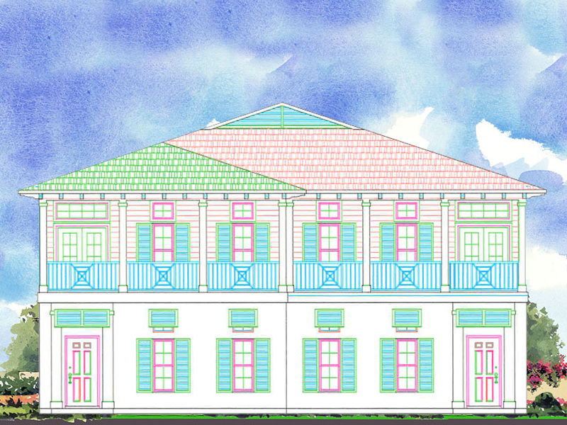 Casa Unifamiliar Adosada por un Venta en New Construction Townhome Units on Ocean Drive 3575 Ocean Drive Vero Beach, Florida 32963 Estados Unidos