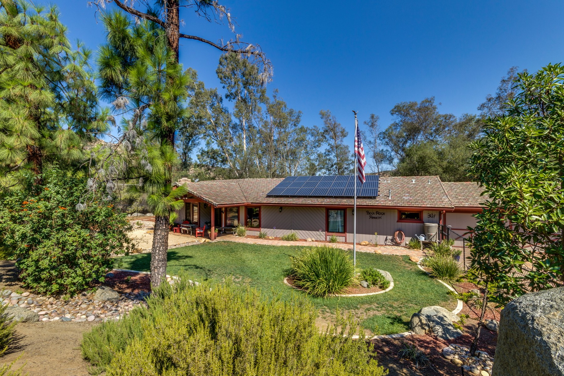 Single Family Home for Sale at 364 Galloway Valley Road Alpine, California 91901 United States