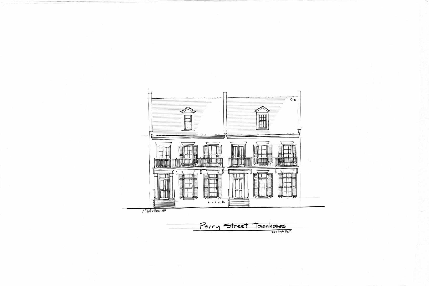 Nhà phố vì Bán tại Historic Savannah Style Architecture Comes to Downtown Newnan 34 Perry Street Unit B Newnan, Georgia, 30263 Hoa Kỳ