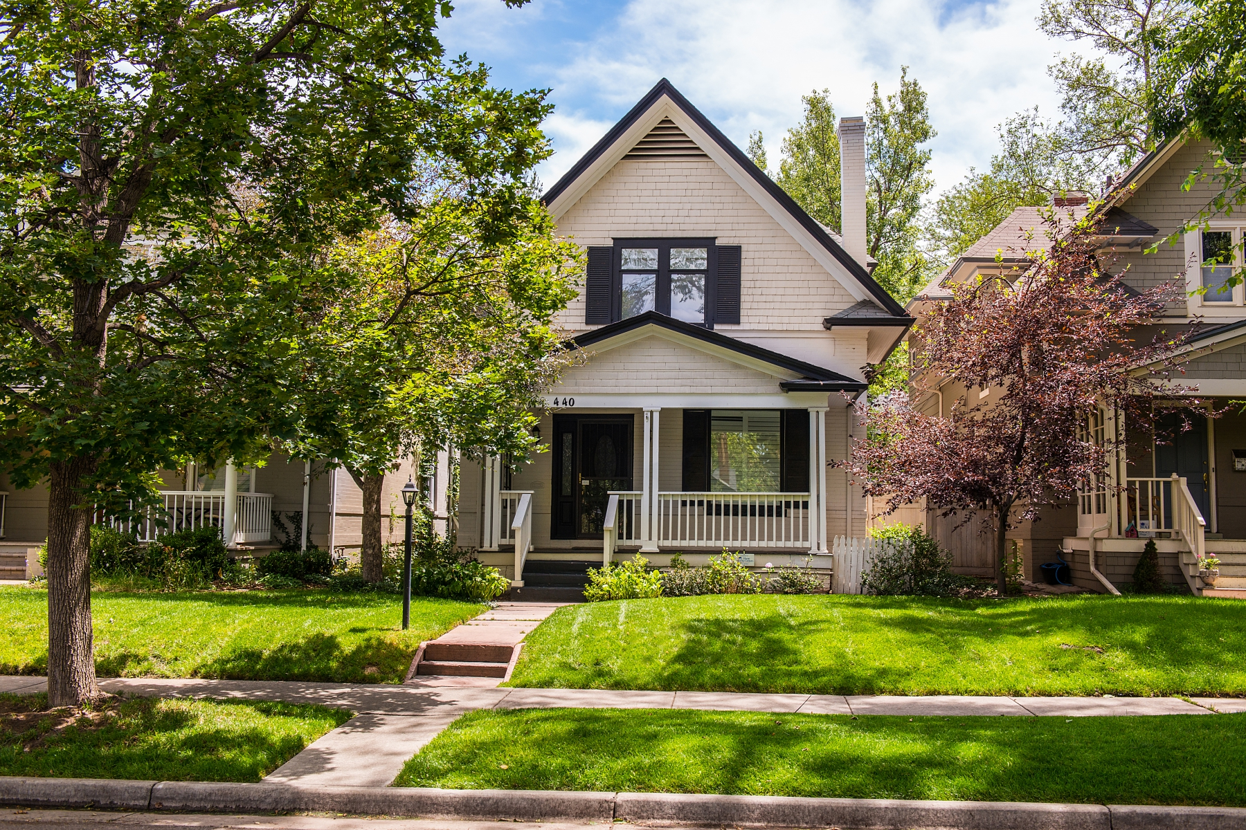 Single Family Home for Sale at Elegant and Private Country Club North Home 440 Lafayette Street Denver, Colorado 80218 United States