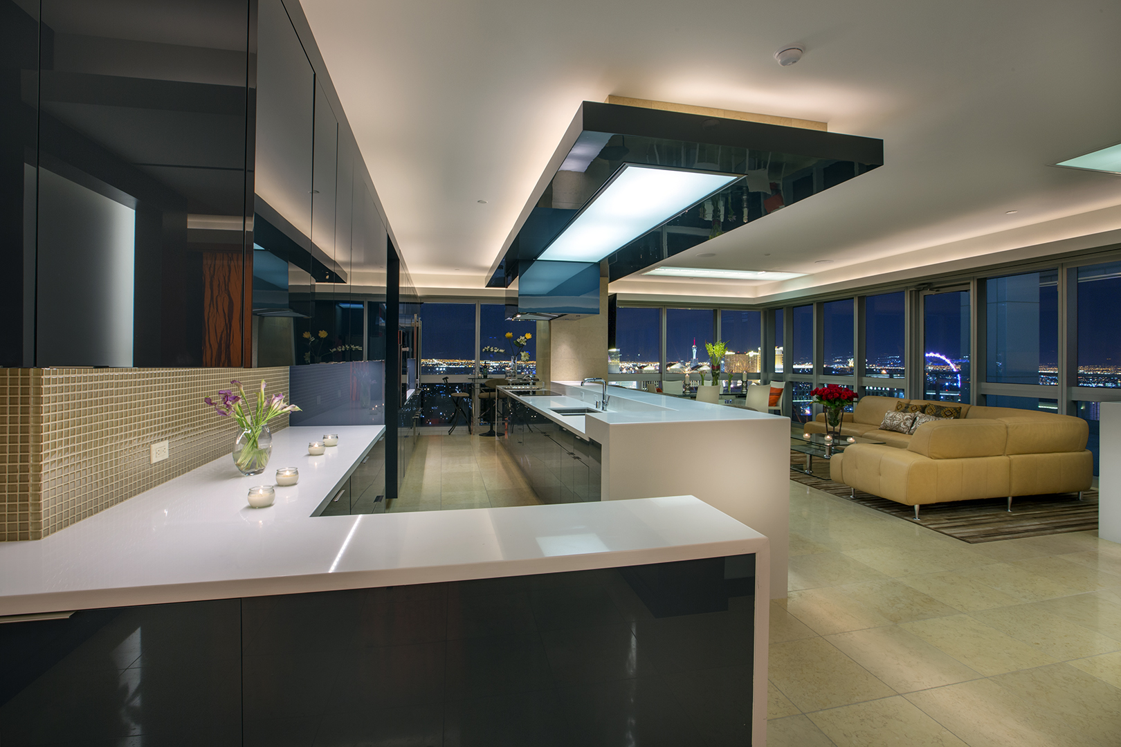 Property For Sale at The Sky-Estate Penthouse at The Martin, Las Vegas