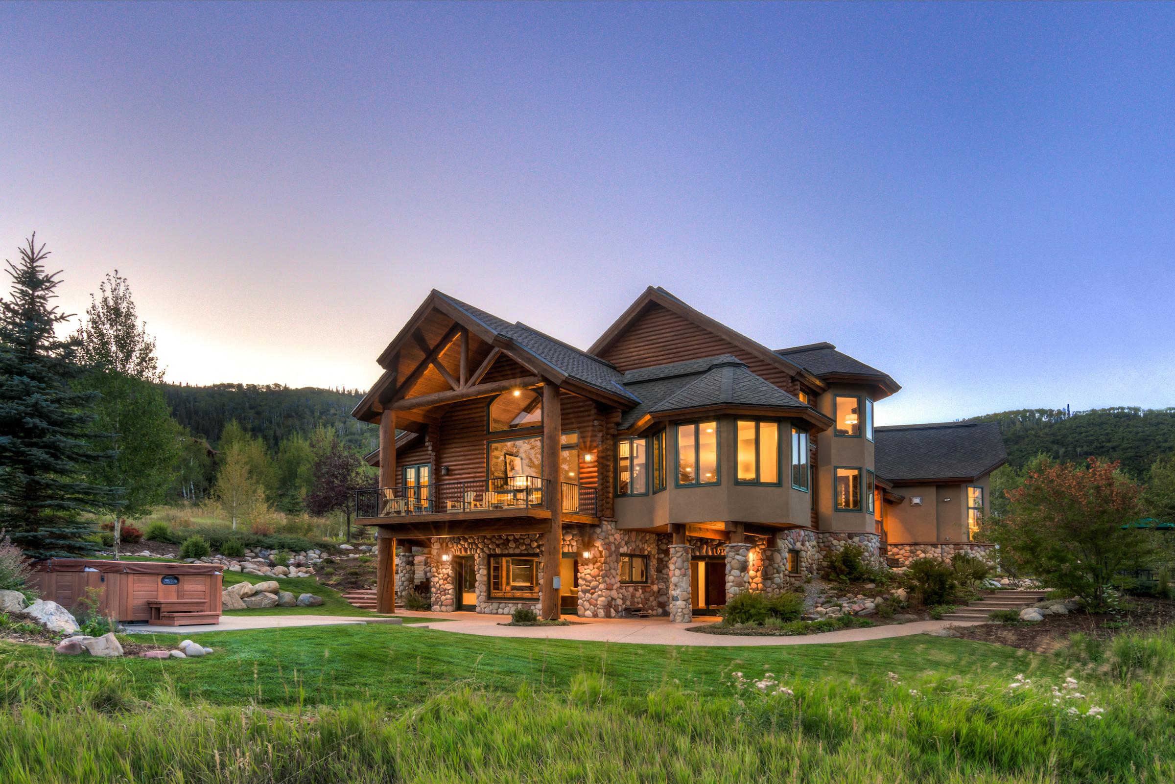 Einfamilienhaus für Verkauf beim Countryside Estate at Dakota Ridge 31100 Countryside Road Steamboat Springs, Colorado, 80487 Vereinigte Staaten