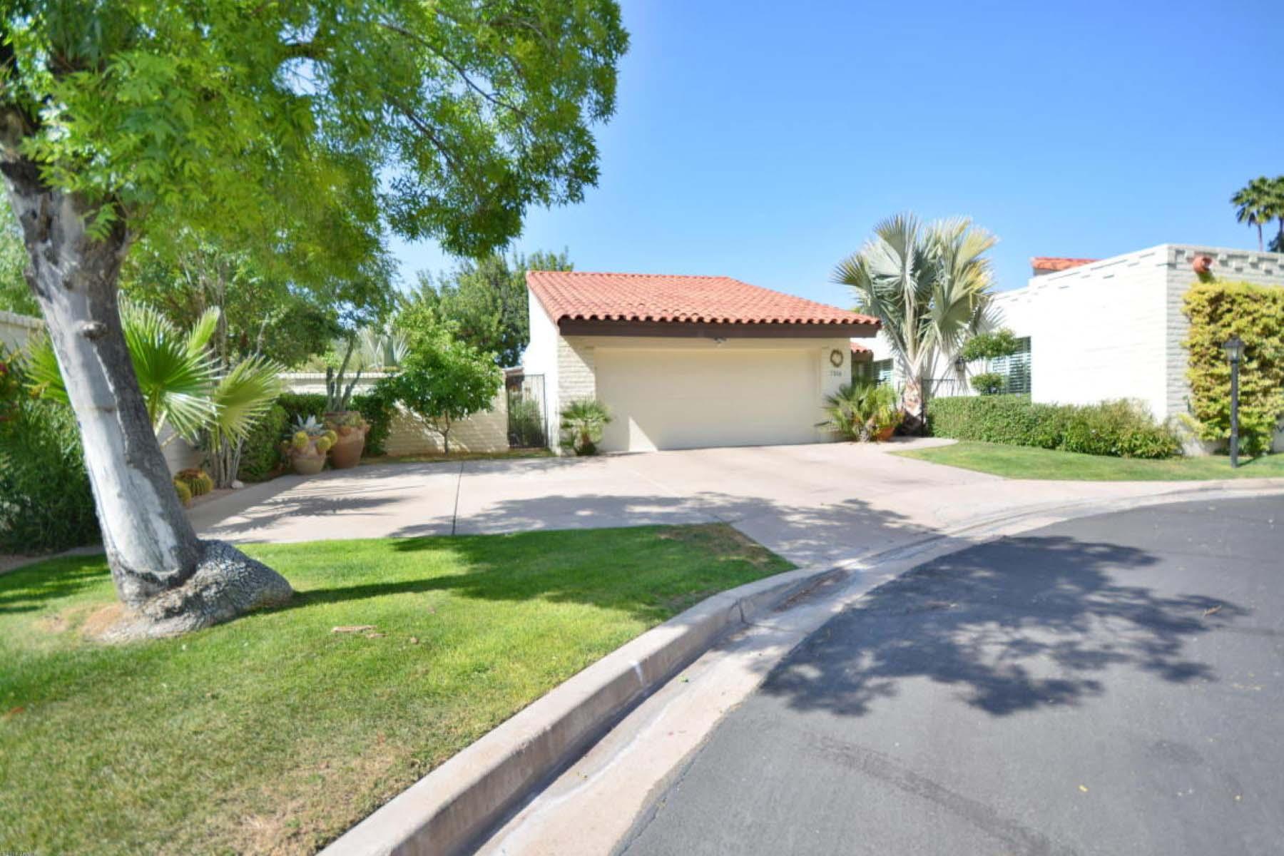 獨棟家庭住宅 為 出售 在 Highly desirable Casabella home. 7316 E SIERRA VISTA DR Scottsdale, 亞利桑那州 85250 美國