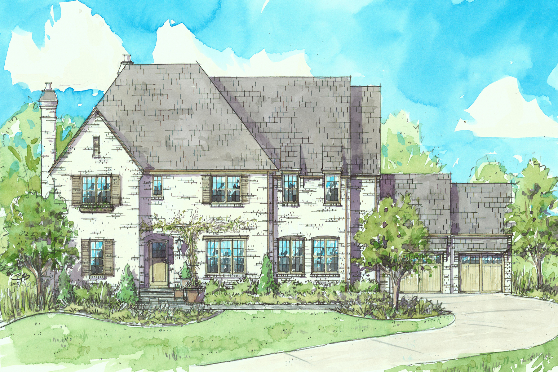 sales property at Eight New Homes in Historic Brookhaven