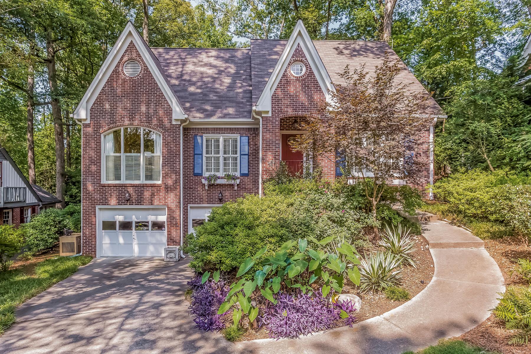 Single Family Home for Sale at Pristine Home In Morningside 1833 N Rock Springs Road NE Morningside, Atlanta, Georgia 30324 United States