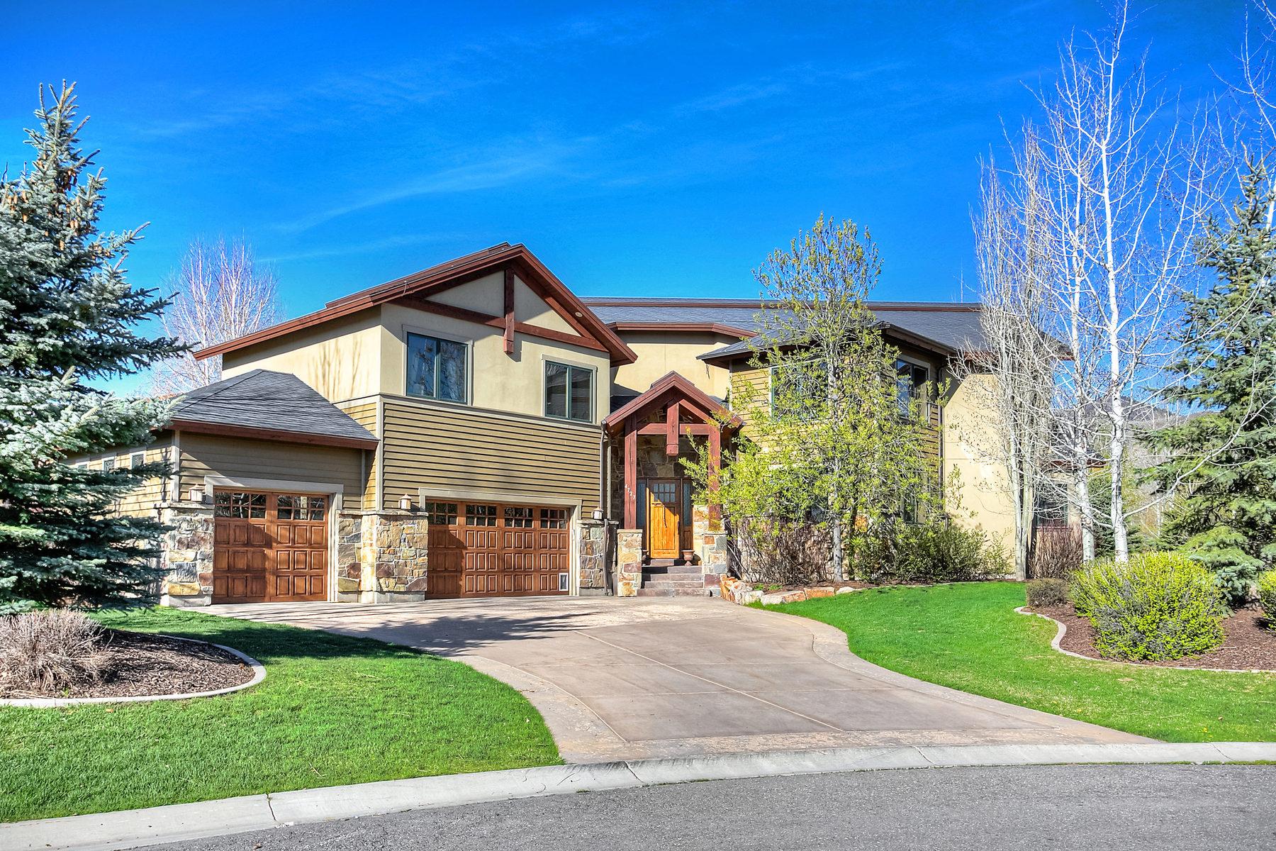 Casa Unifamiliar por un Venta en Panoramic Views, Convenient Location 4727 Pace Dr Park City, Utah 84098 Estados Unidos