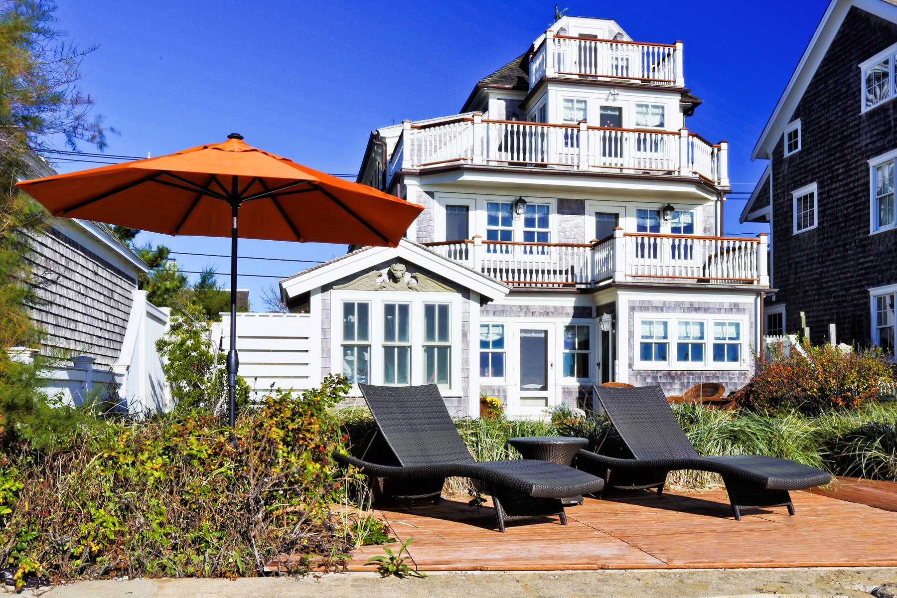 Single Family Home for Sale at Waterfront Luxury 531 Commercial Street Provincetown, Massachusetts 02657 United States
