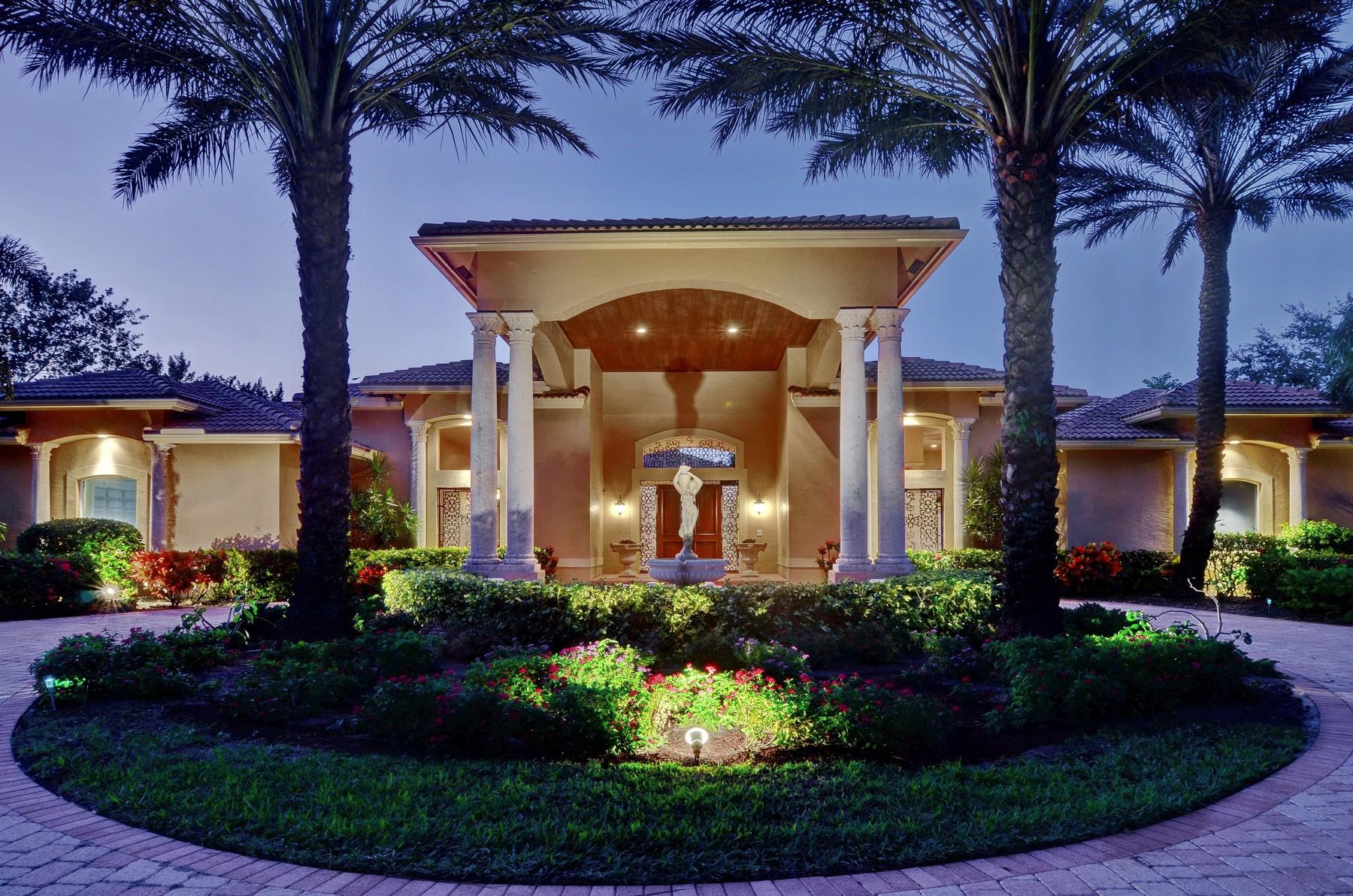 Casa Unifamiliar por un Venta en 7619 Saratoga Ln , Parkland, FL 33067 7619 Saratoga Ln Parkland, Florida, 33067 Estados Unidos