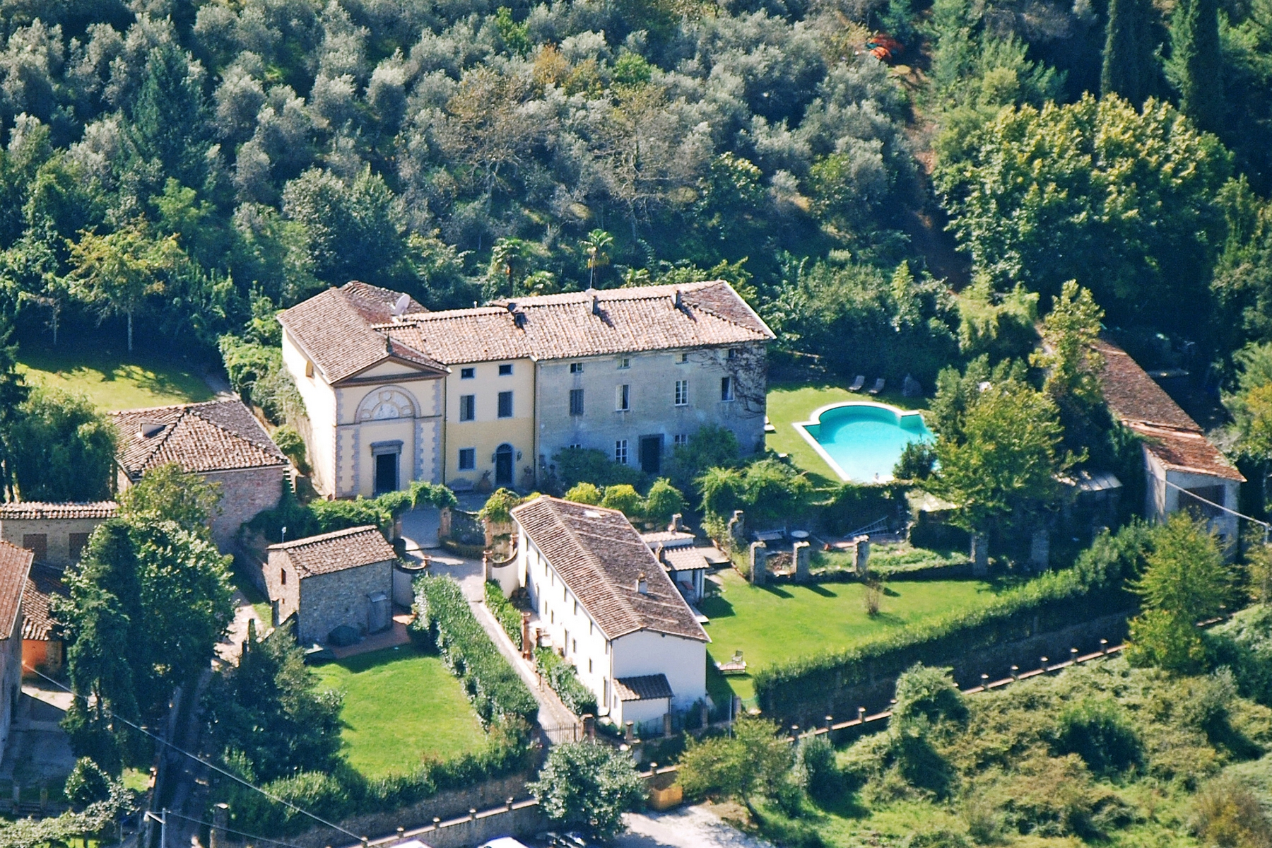 Single Family Home for Sale at Lovely 18th century villa with pool Via di Valle Lucca, 55060 Italy