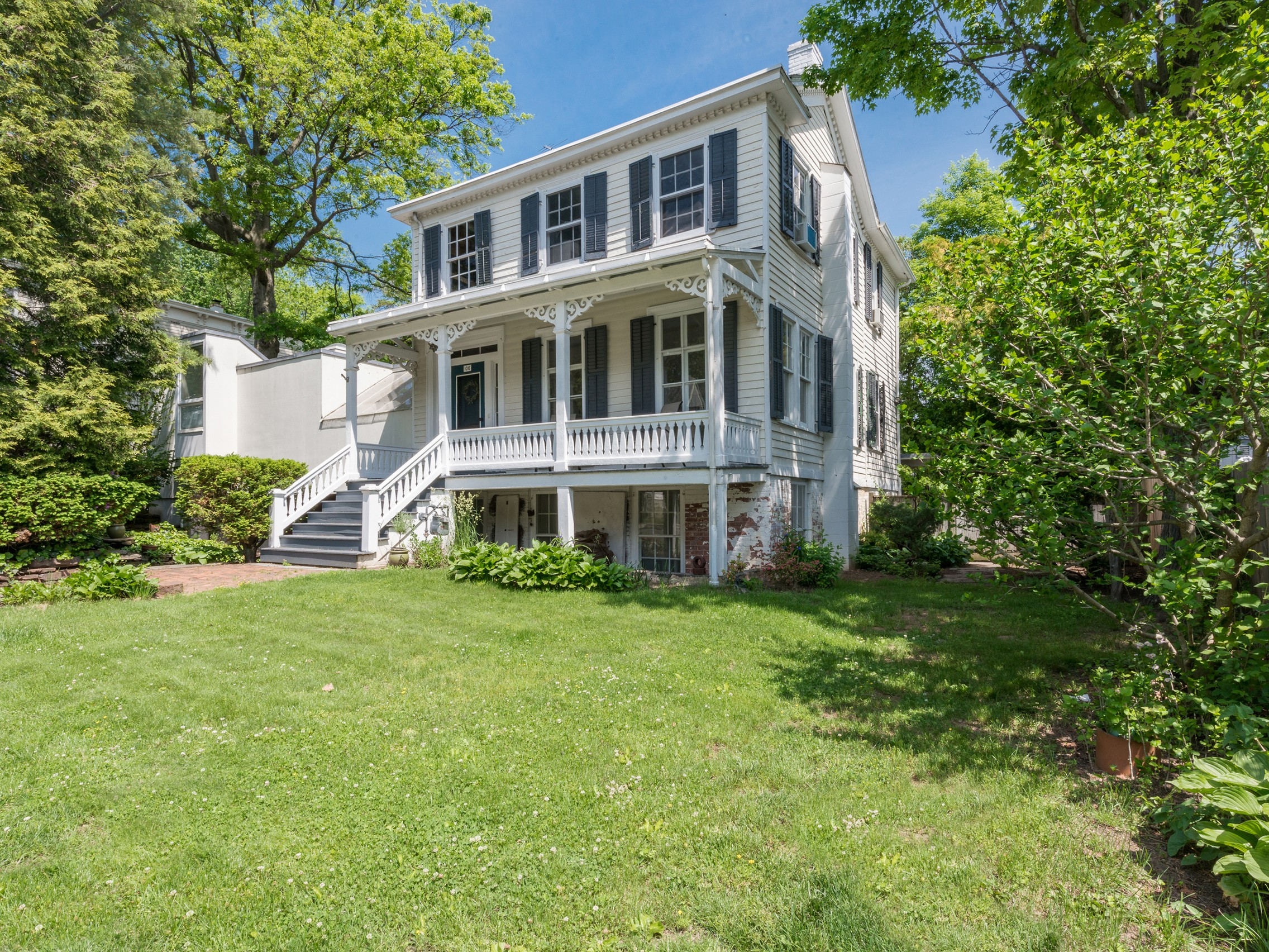 Single Family Home for Sale at Inviting Colonial Contemporary 106 Castle Heights Ave Upper Nyack, New York 10960 United States