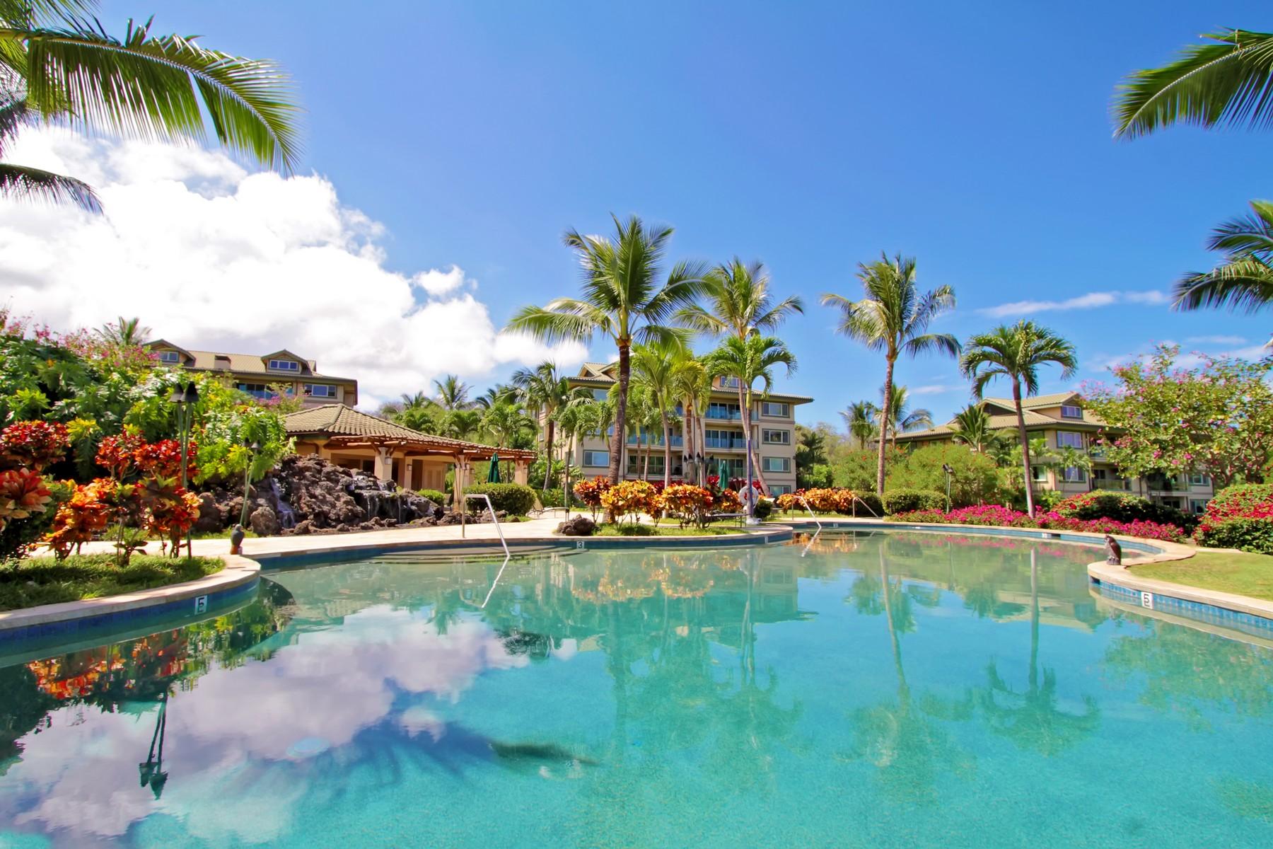 Condominio per Vendita alle ore Luxury Makena Maui Residential Condominium 4955 Makena Road, Na Hale O Makena D-201 Makena, Hawaii, 96753 Stati Uniti