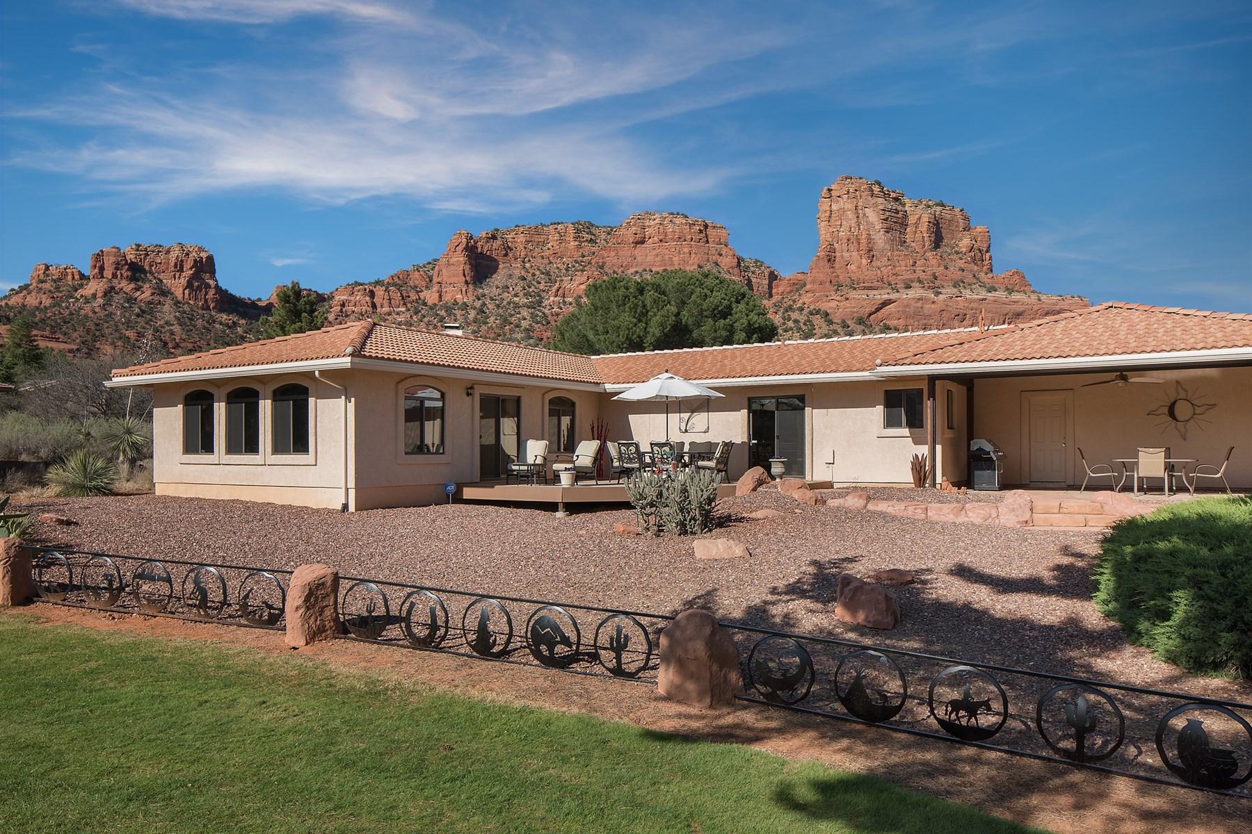 一戸建て のために 売買 アット Absolute best golf course locations in the Oakcreek Country Club 315 Oakcreek Drive Sedona, アリゾナ, 86351 アメリカ合衆国