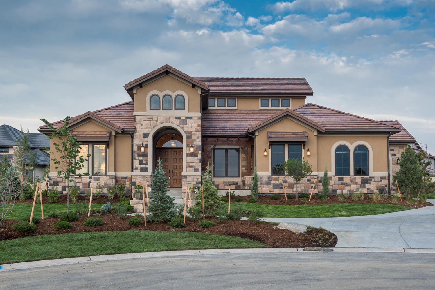 Single Family Home for Sale at The Yorkshire by Emerald Homes at Estancia 6758 S Dunkirk Court Centennial, Colorado, 80016 United States
