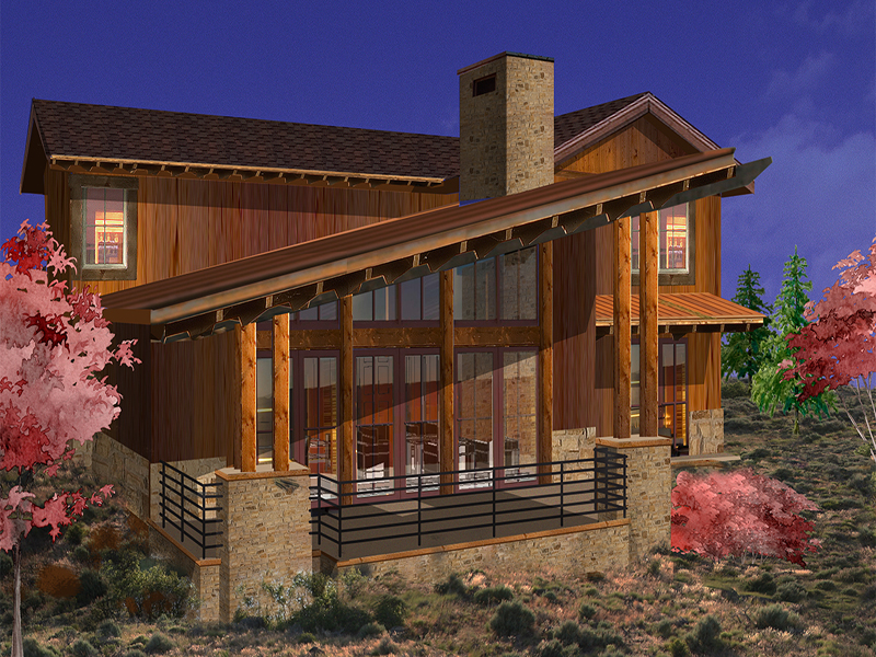Property Of Luxury Park City Cabin in the Promontory Golf Community