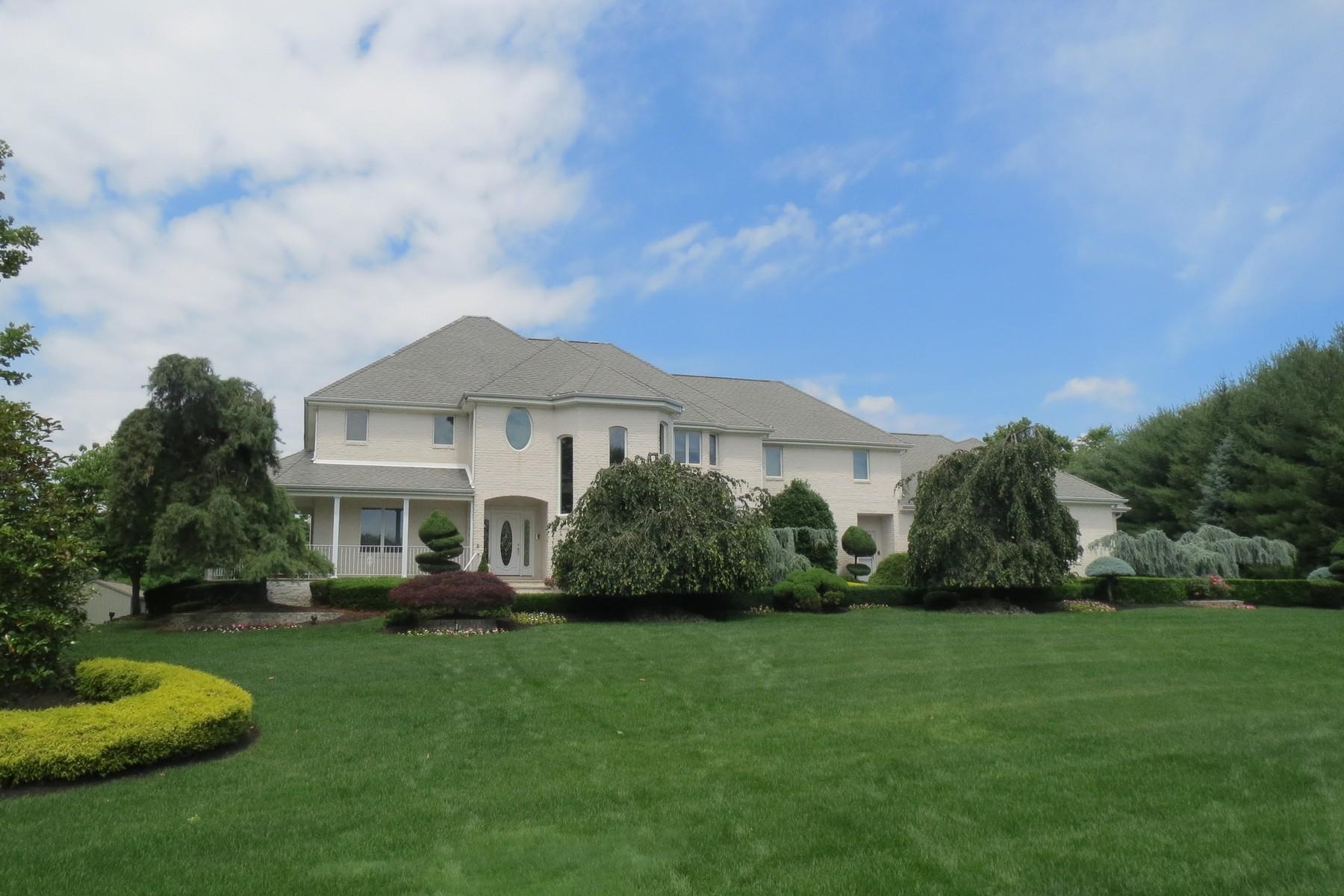 Maison unifamiliale pour l Vente à 48 Rivers Edge 48 Rivers Edge Drive Colts Neck, New Jersey 07722 États-Unis