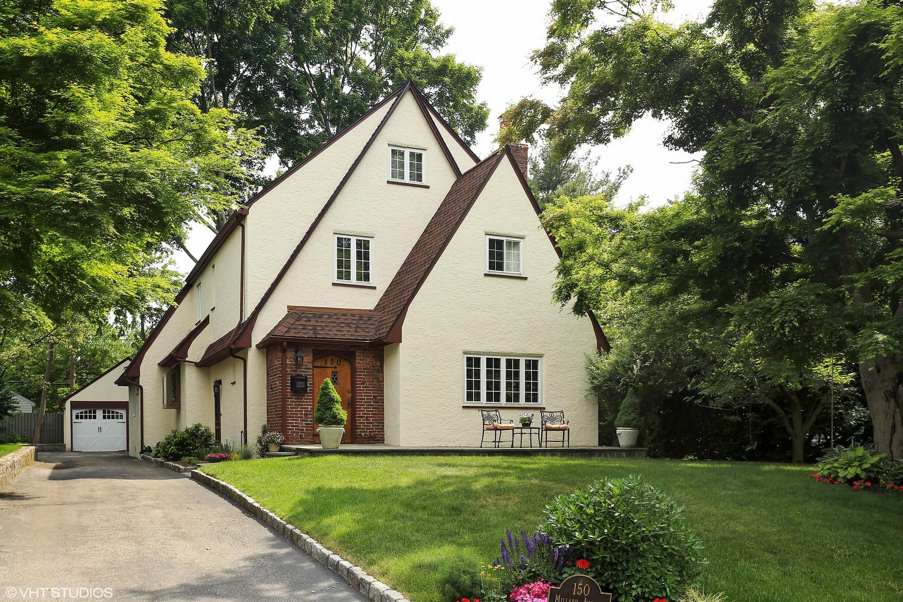 Einfamilienhaus für Verkauf beim Spacious Philipse Manor Tudor 150 Millard Avenue Sleepy Hollow, New York 10591 Vereinigte Staaten