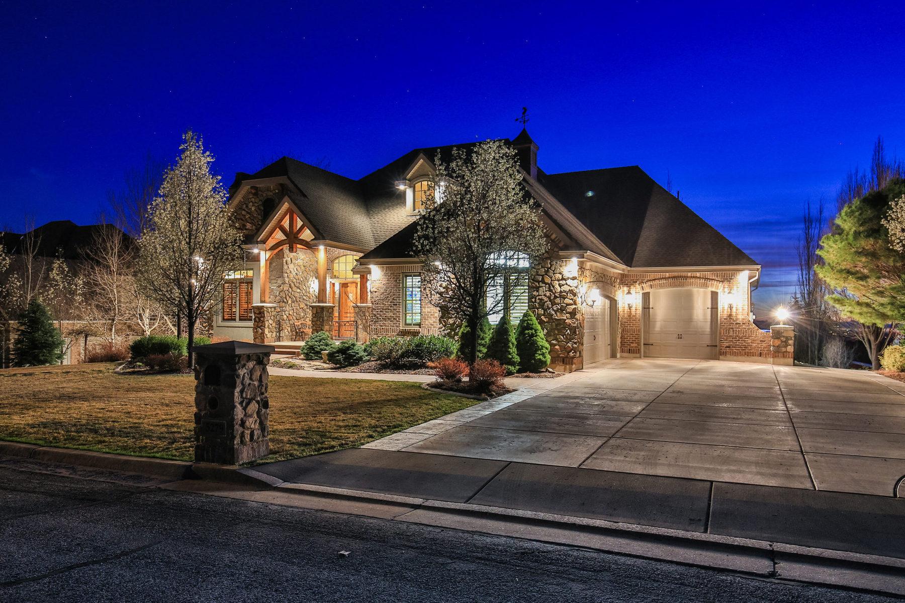 Частный односемейный дом для того Продажа на Ogden East Bench Masterpiece 5279 S Ridgedale Dr Ogden, Юта 84403 Соединенные Штаты
