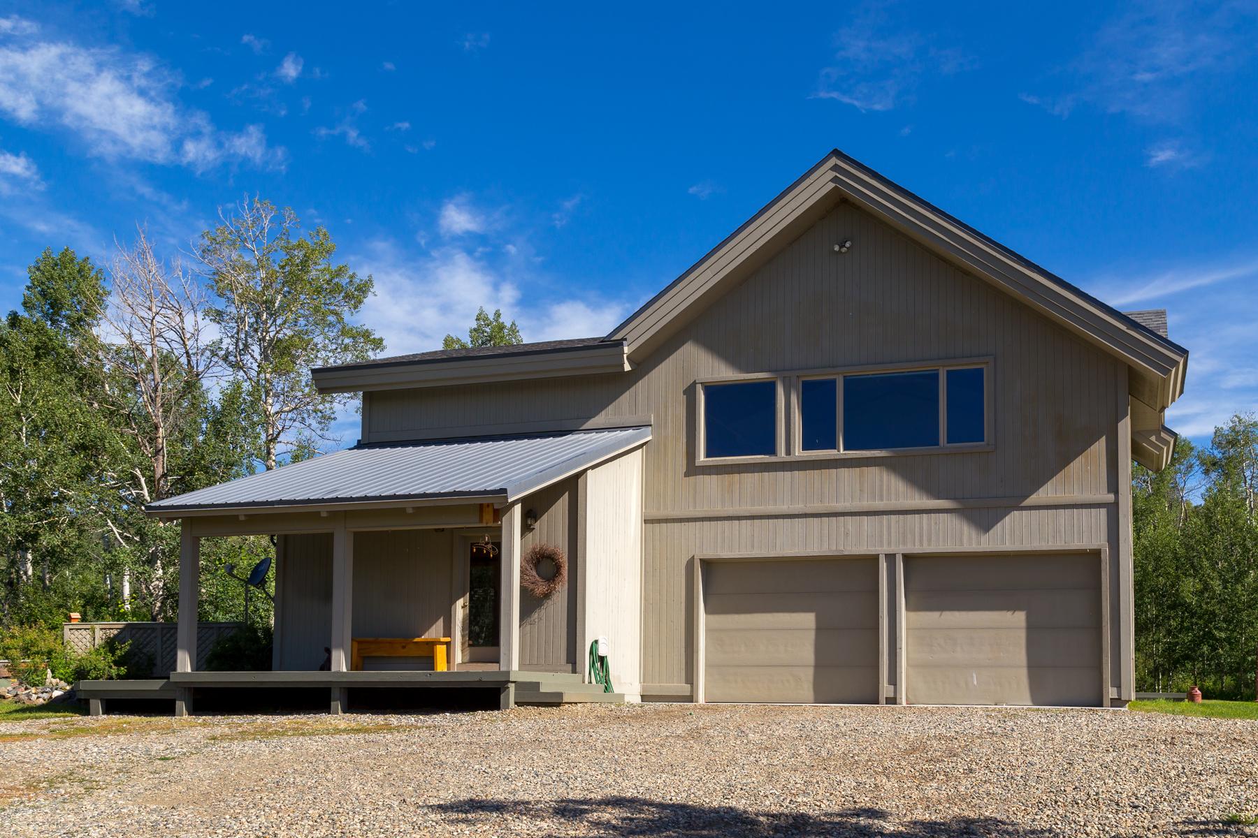 Maison unifamiliale pour l Vente à Exceptional Horse Property 24555 McAlpin Trail Clark, Colorado, 80428 États-Unis