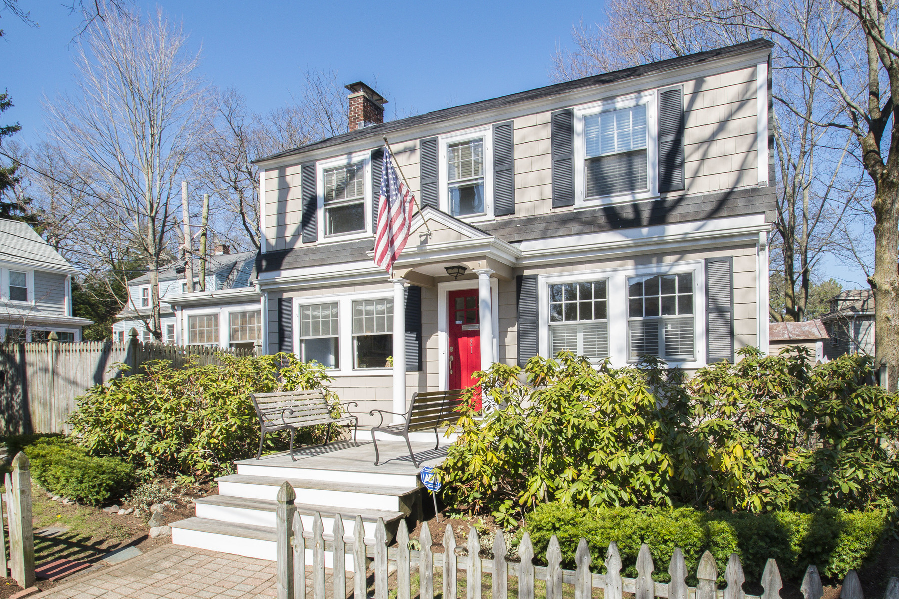 sales property at Classic New England Colonial