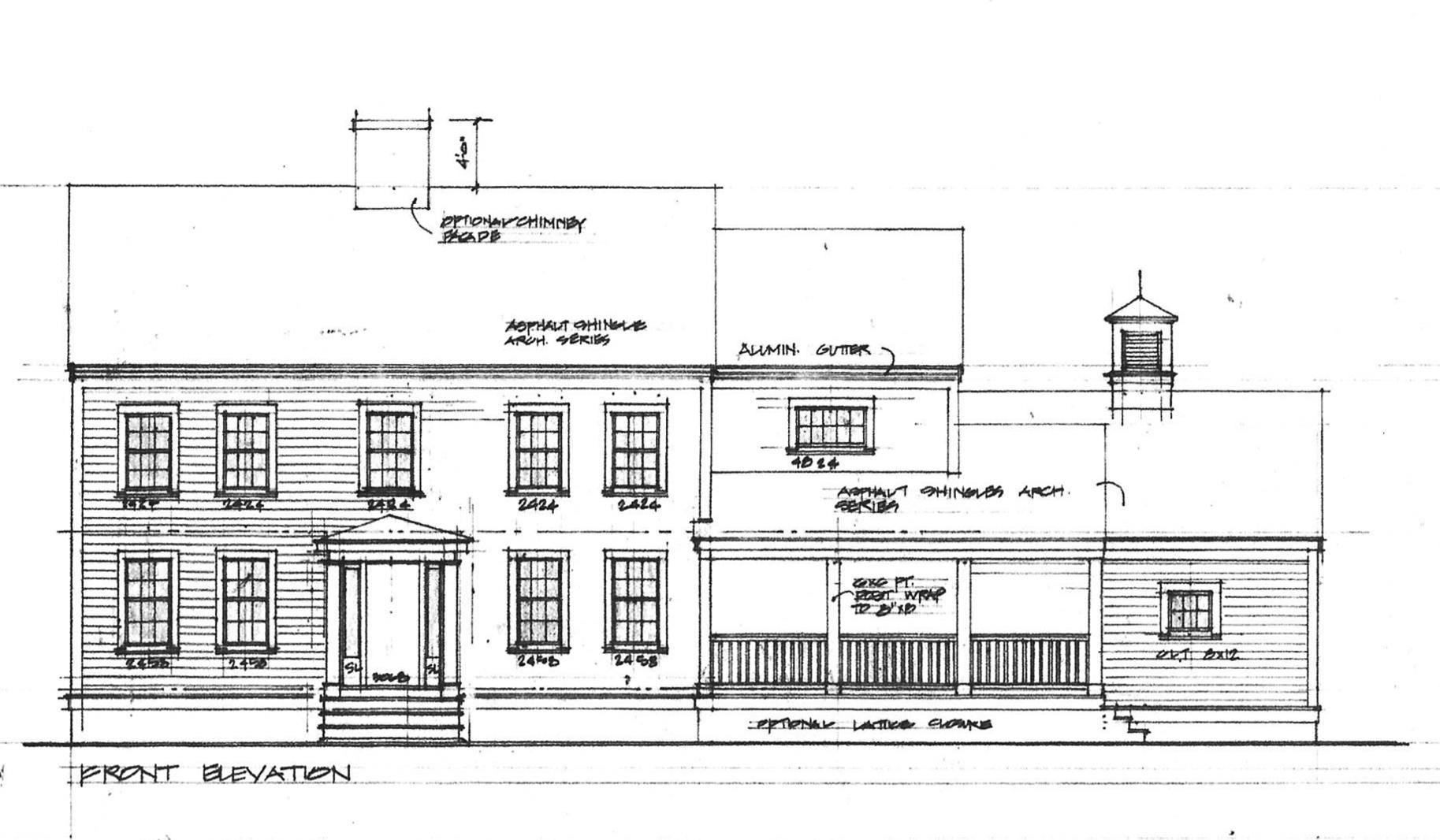 Casa para uma família para Venda às 154 High Street 154 High Street Lot A Duxbury, Massachusetts, 02332 Estados Unidos
