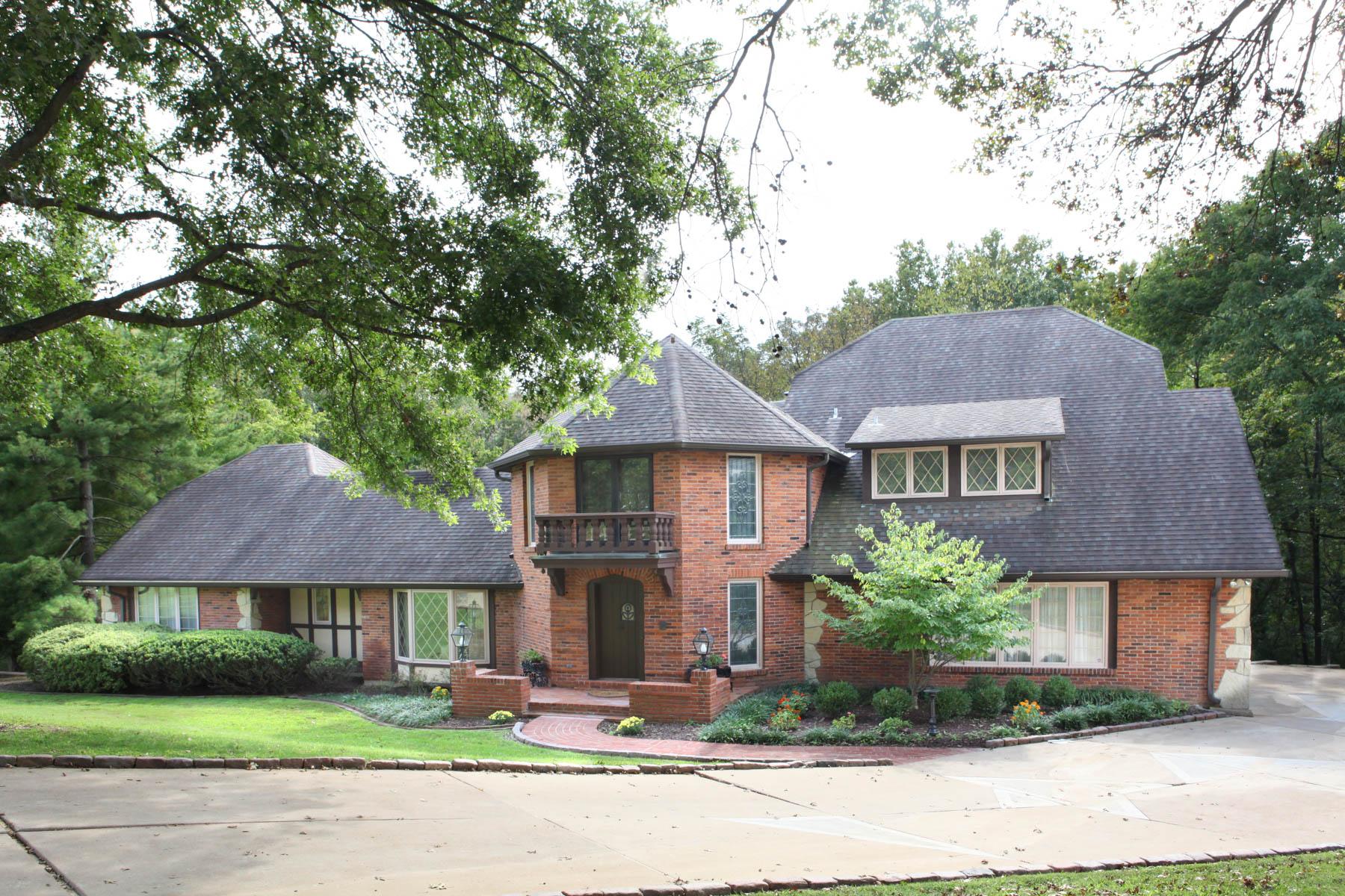 Casa para uma família para Venda às Kings Glen 13596 Kings Glen Town And Country, Missouri, 63131 Estados Unidos