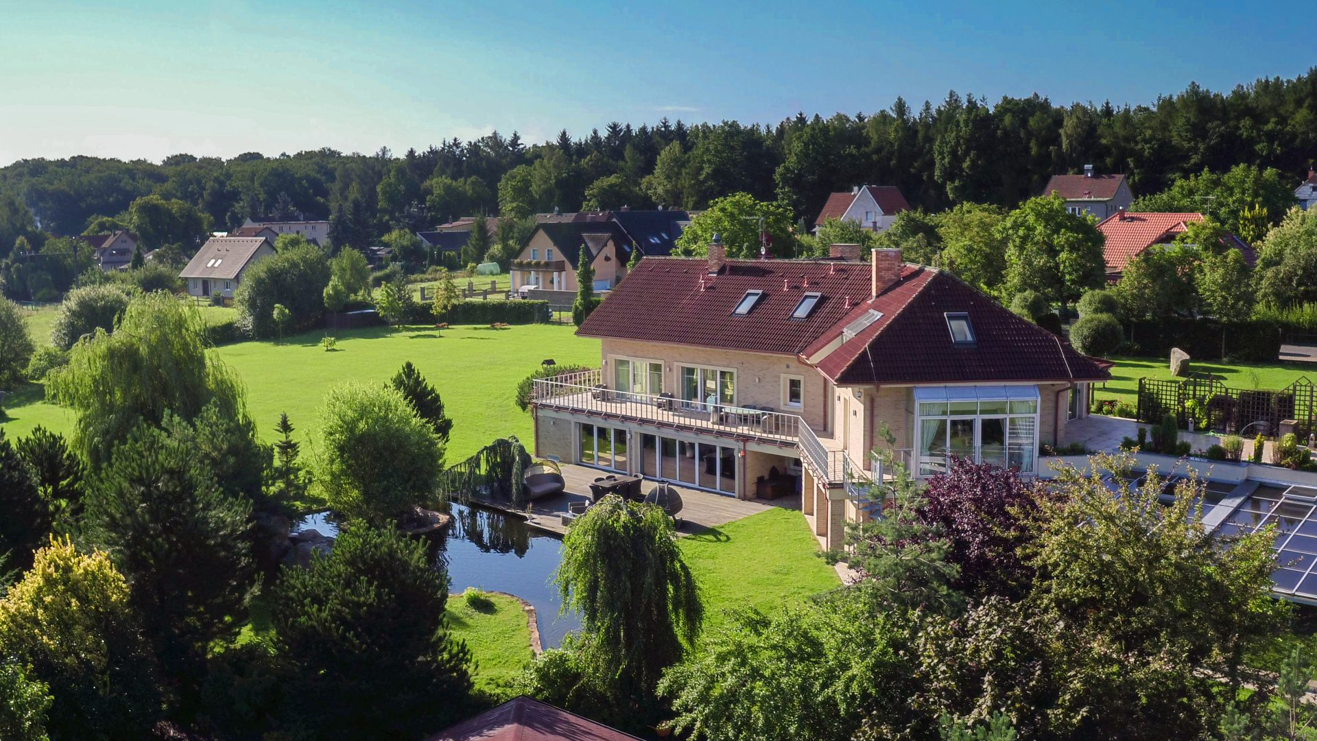 sales property at Exquisite family estate in the Czech President 's summer hometown