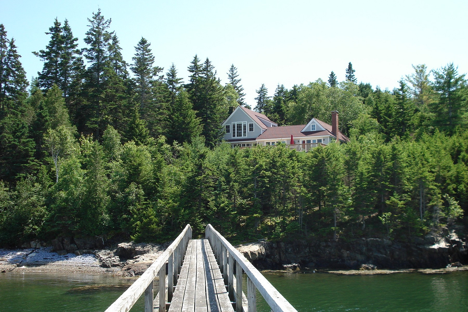 Single Family Home for Sale at Spindrift 69 Seawall Road Southwest Harbor, Maine 04679 United States