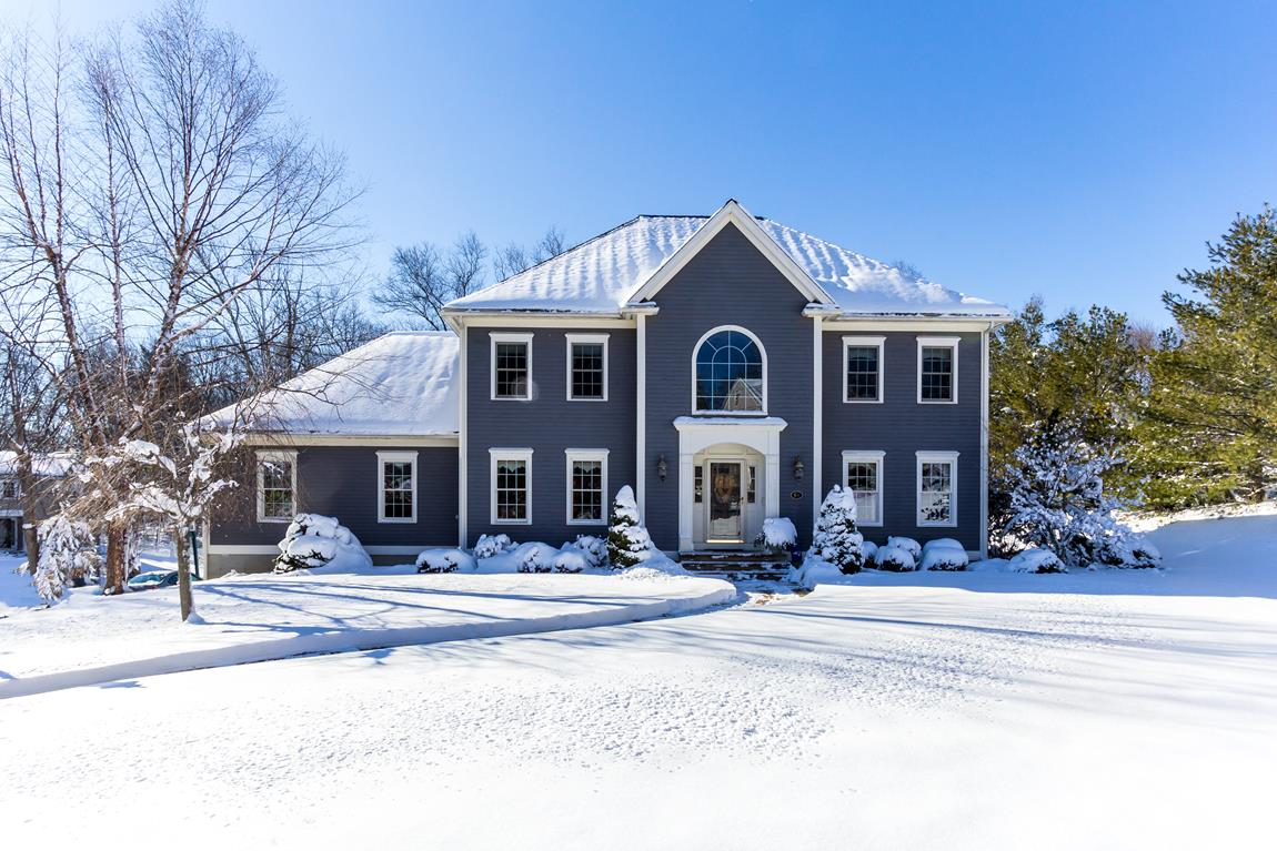 Single Family Home for Sale at Graceful Colonial 61 High Street Shrewsbury, Massachusetts 01545 United States