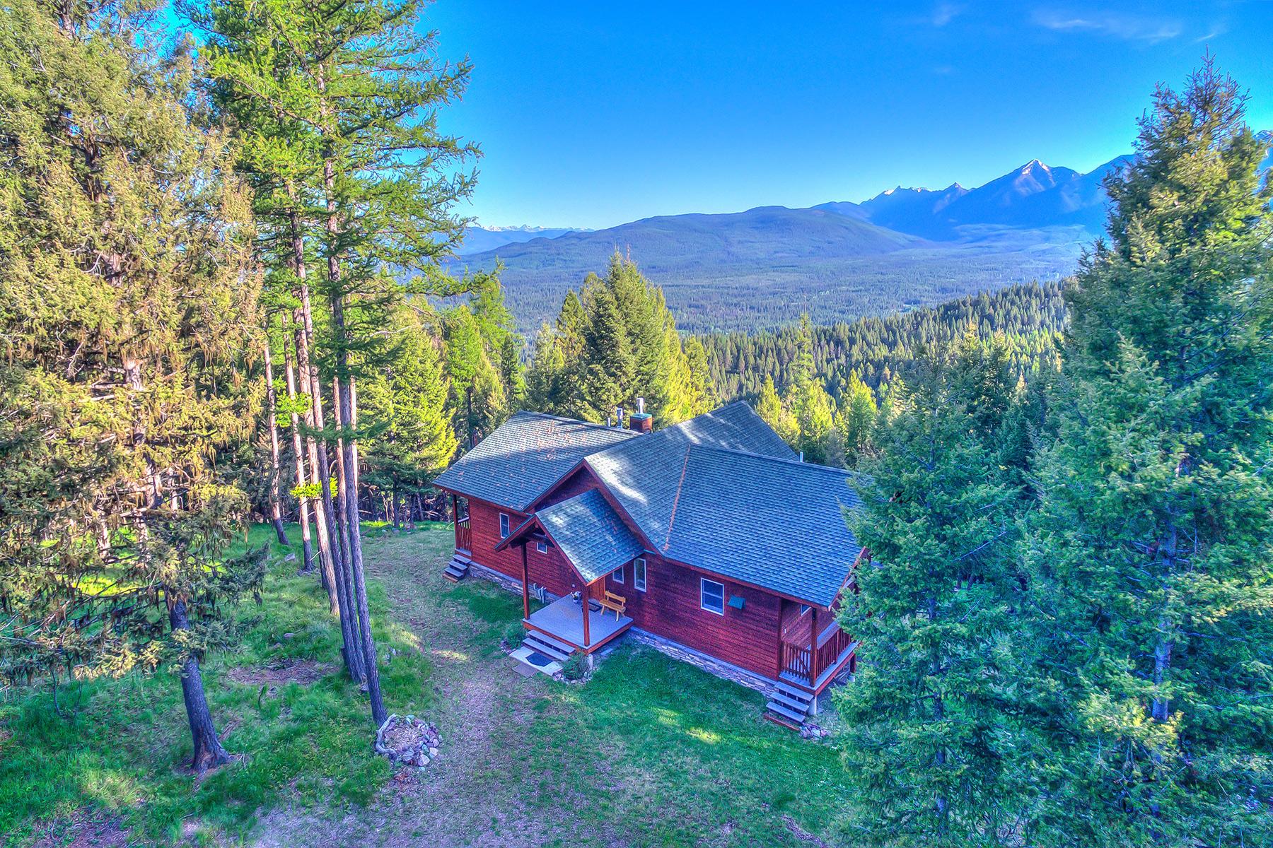 Casa para uma família para Venda às 467 Wolverine Seeley Lake, Montana 59868 Estados Unidos