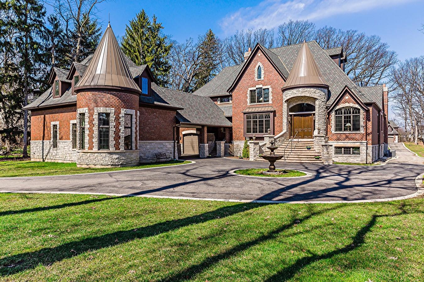 Casa Unifamiliar por un Venta en 3108 White Oak Ln 3108 White Oak Lane Oak Brook, Illinois, 60523 Estados Unidos