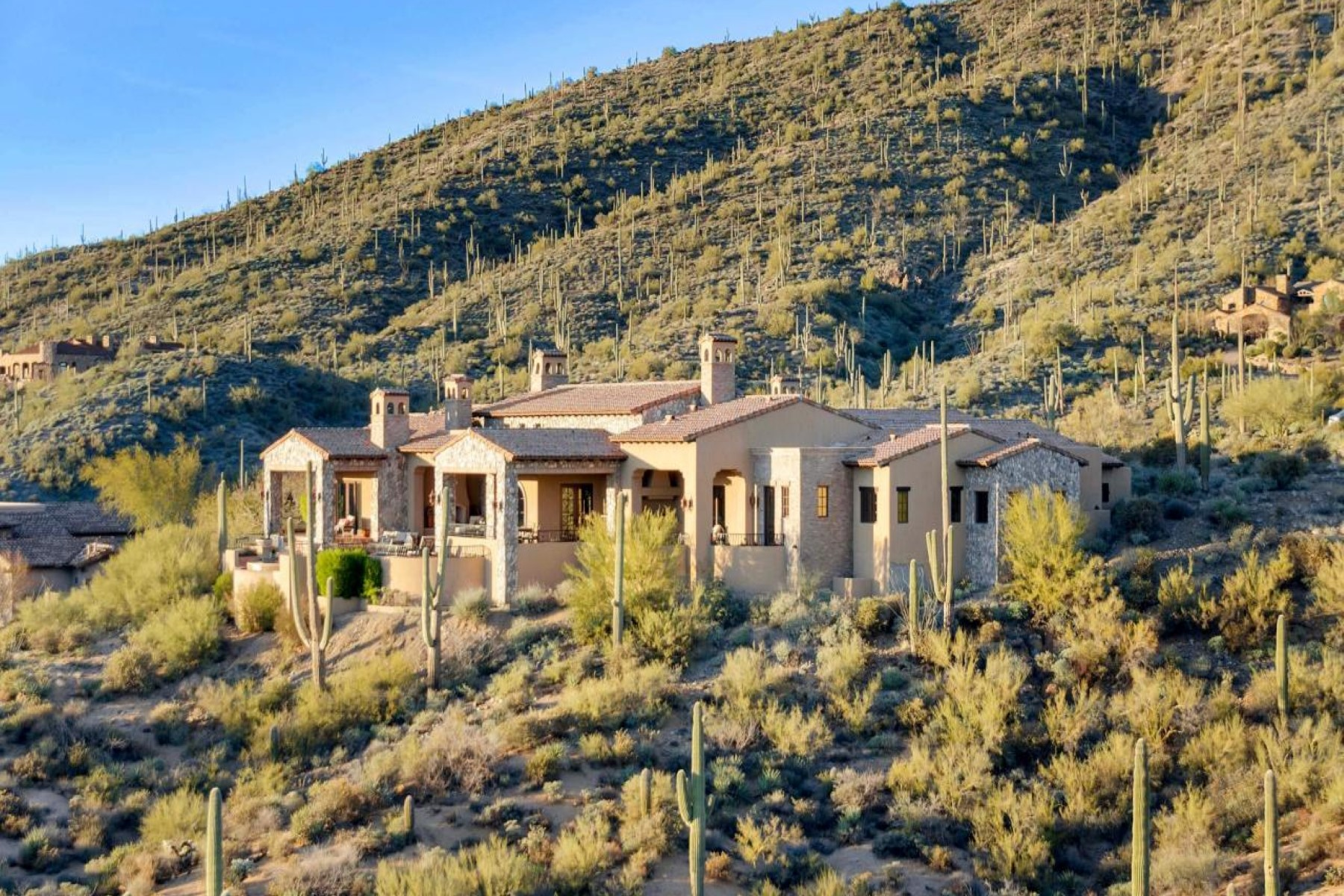 sales property at Tuscan andalusian style home offers unparalleled views