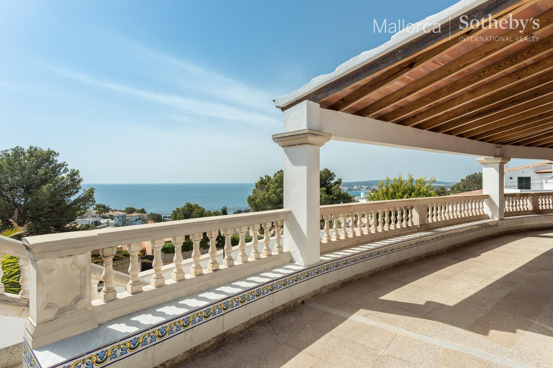 Einfamilienhaus für Verkauf beim Villa in Costa d'en Blanes with great potential Costa D En Blanes, Mallorca 07181 Spanien