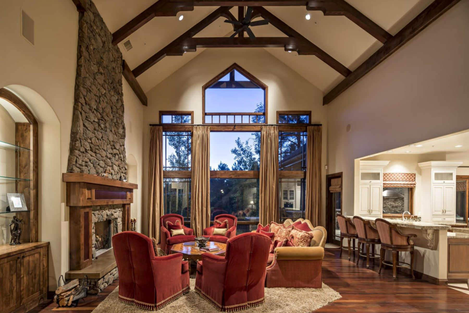 Single Family Home for Sale at Incredible custom residence on the 11th hole of Pine Canyon 2051 E Barranca Dr Flagstaff, Arizona, 86001 United States