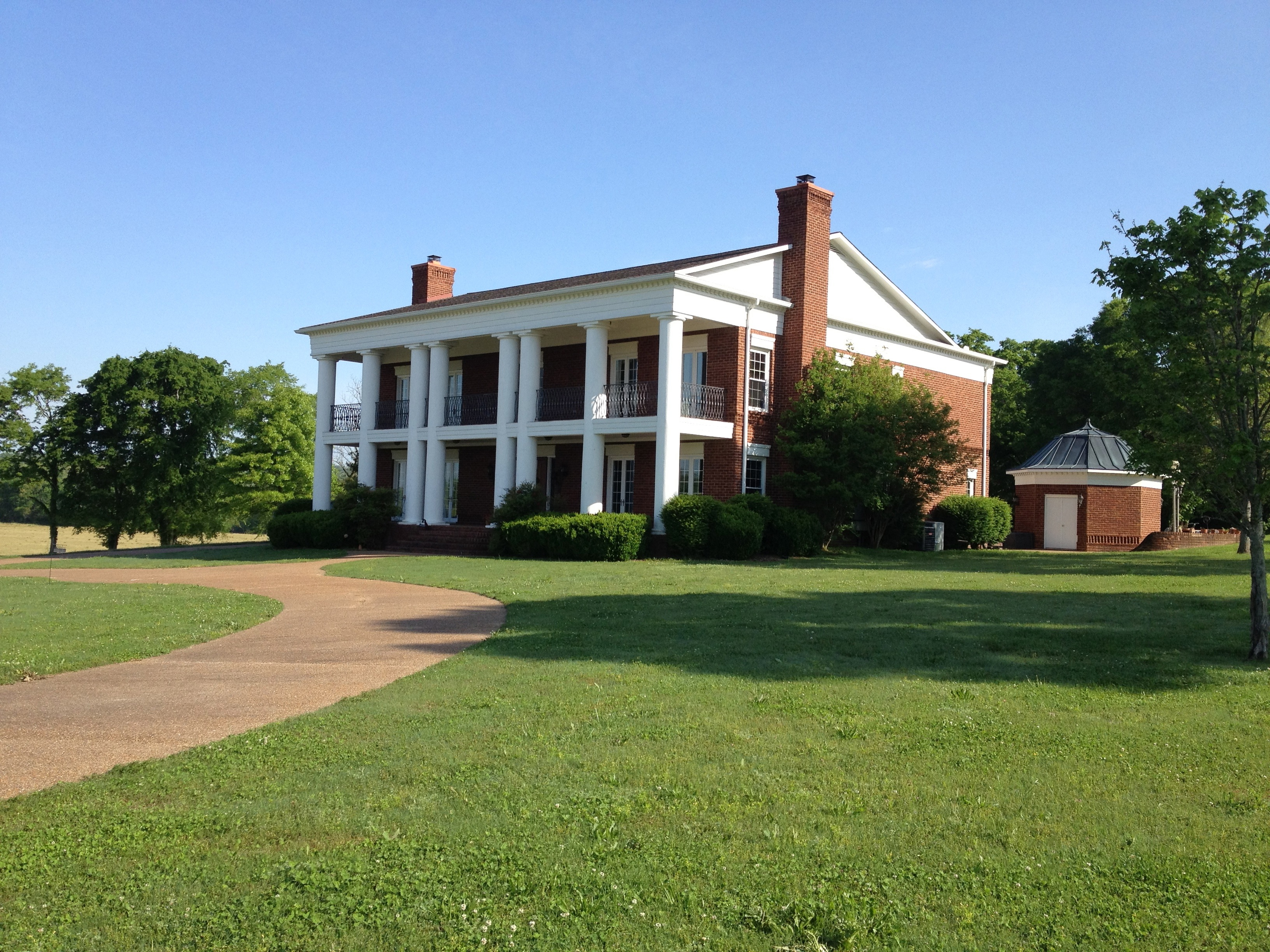sales property at Colonial Home on 19 Acres in Fayetteville