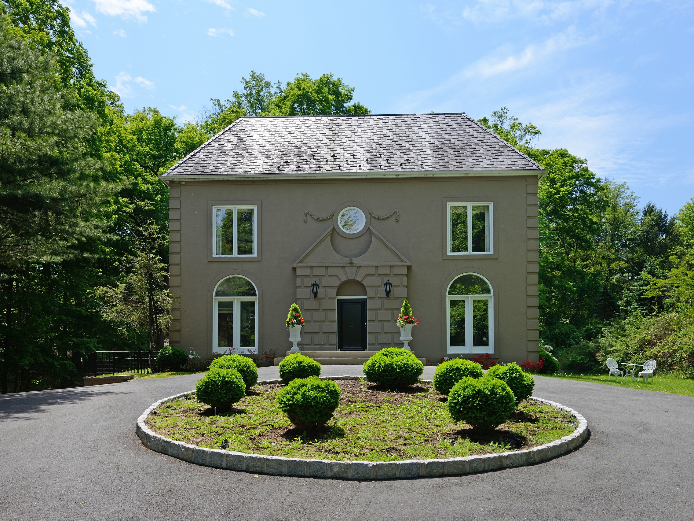 Single Family Home for Sale at Into the Woods 27 Pepperidge Road Tuxedo Park, New York, 10987 United States