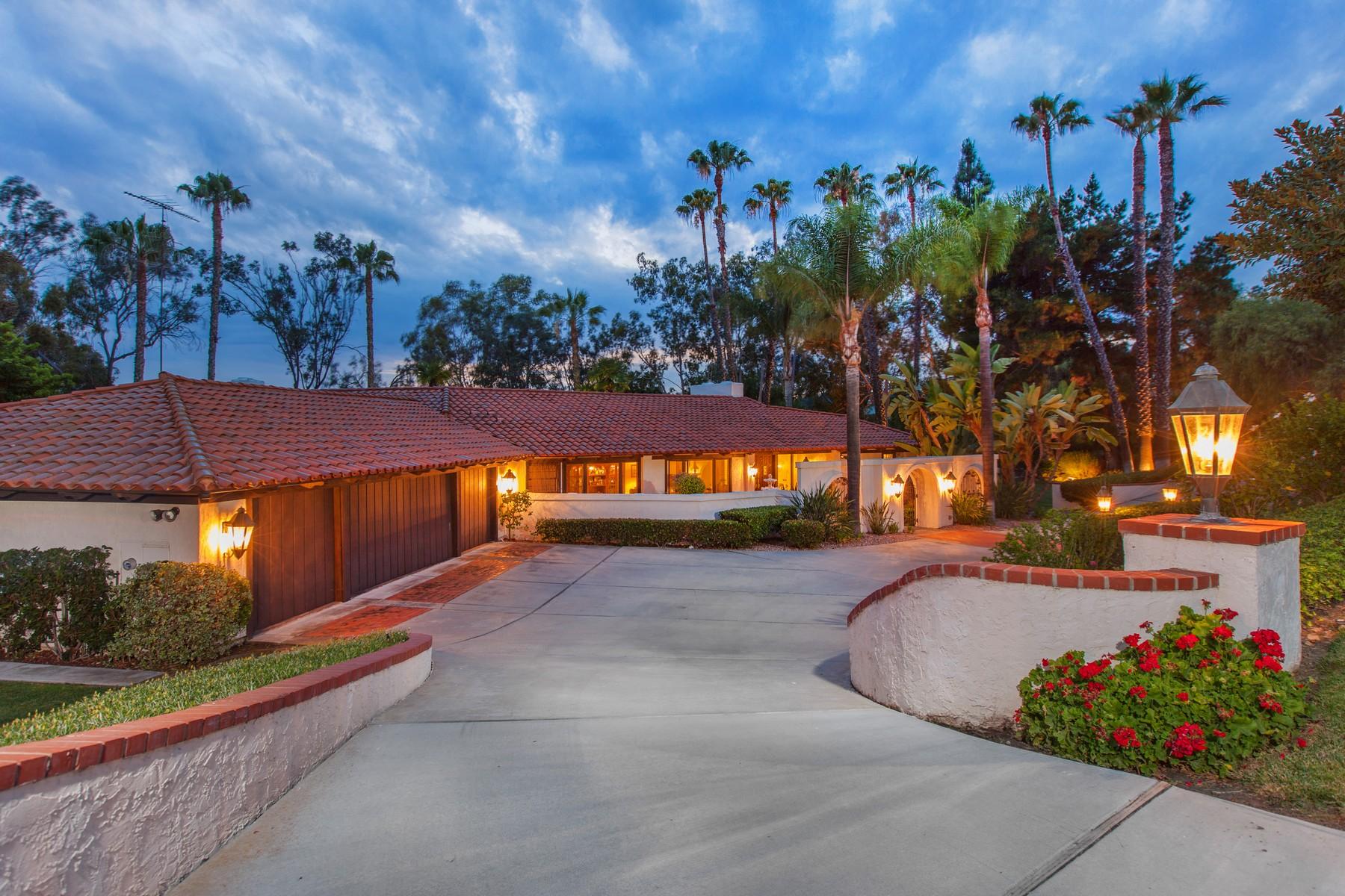 Casa Unifamiliar por un Venta en 17420 El Caporal Rancho Santa Fe, California 92067 Estados Unidos