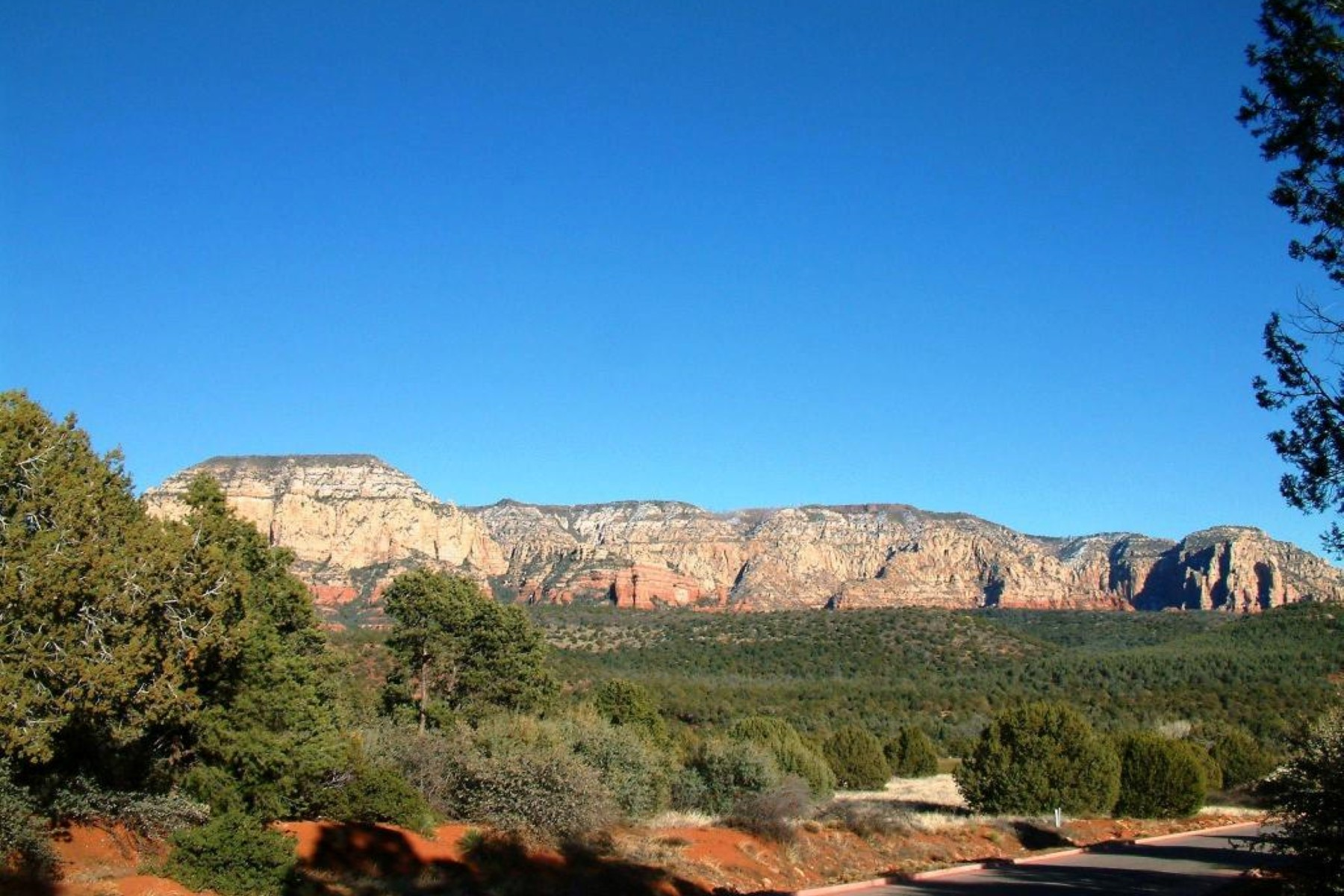 土地 のために 売買 アット Private 1.08 acre estate lot has magnificent panoramic red rock views 30 Canyon Vista RD Sedona, アリゾナ 86336 アメリカ合衆国
