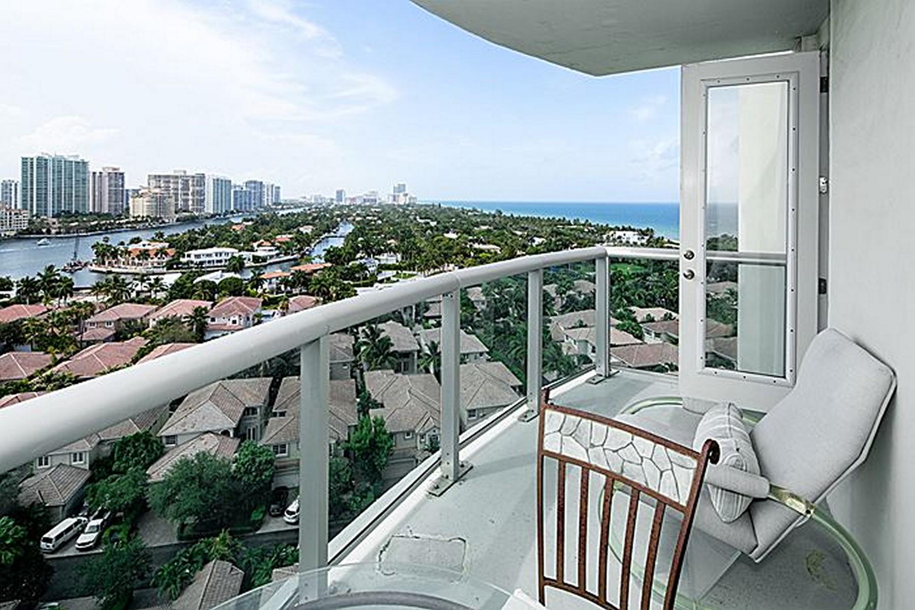 콘도미니엄 용 매매 에 19370 Collins Ave #1626 19370 Collina Ave #1626 Miami Beach, 플로리다 33160 미국