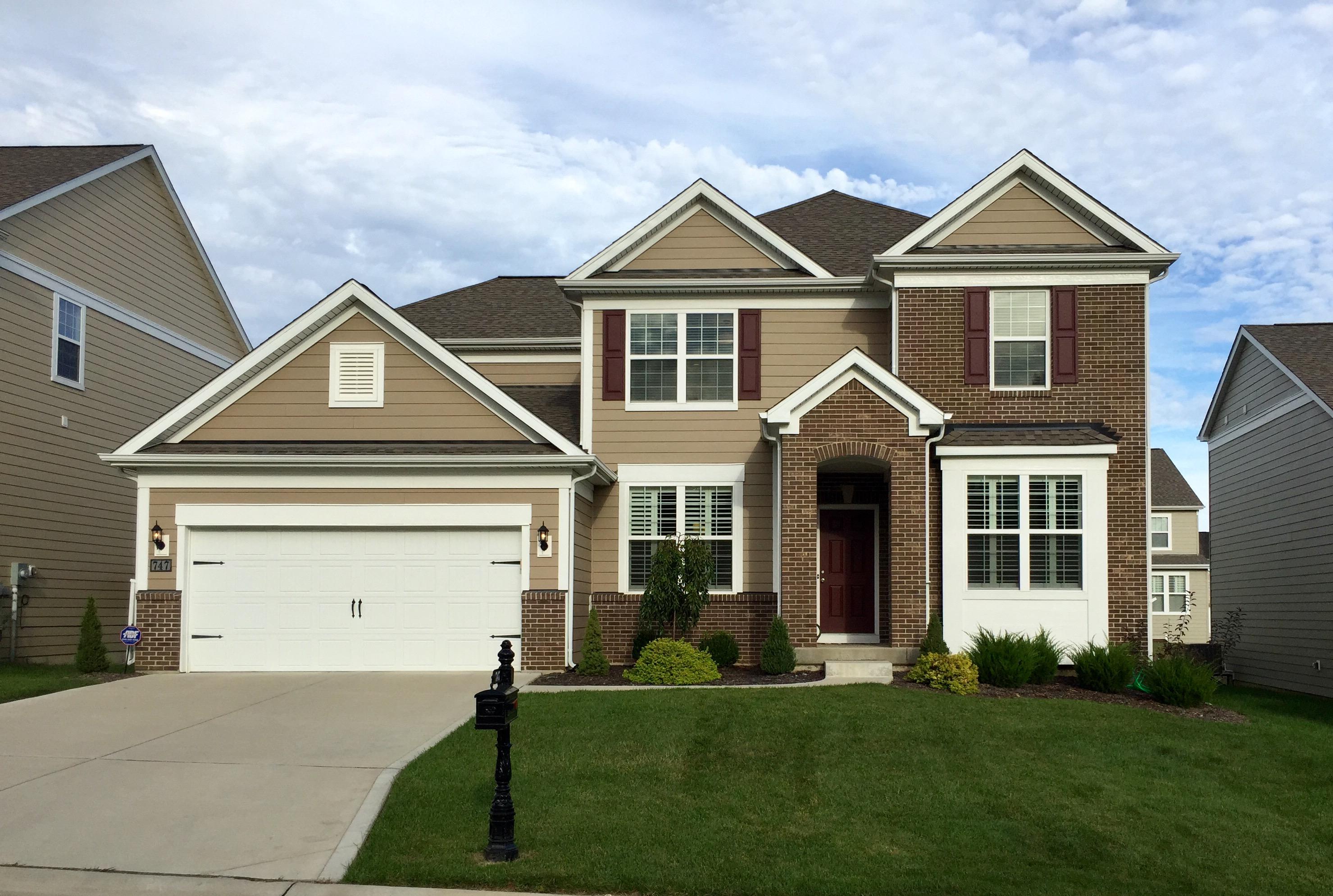 Casa para uma família para Venda às Savannah Crossing Way 747 Savannah Crossing Way Chesterfield, Missouri, 63017 Estados Unidos